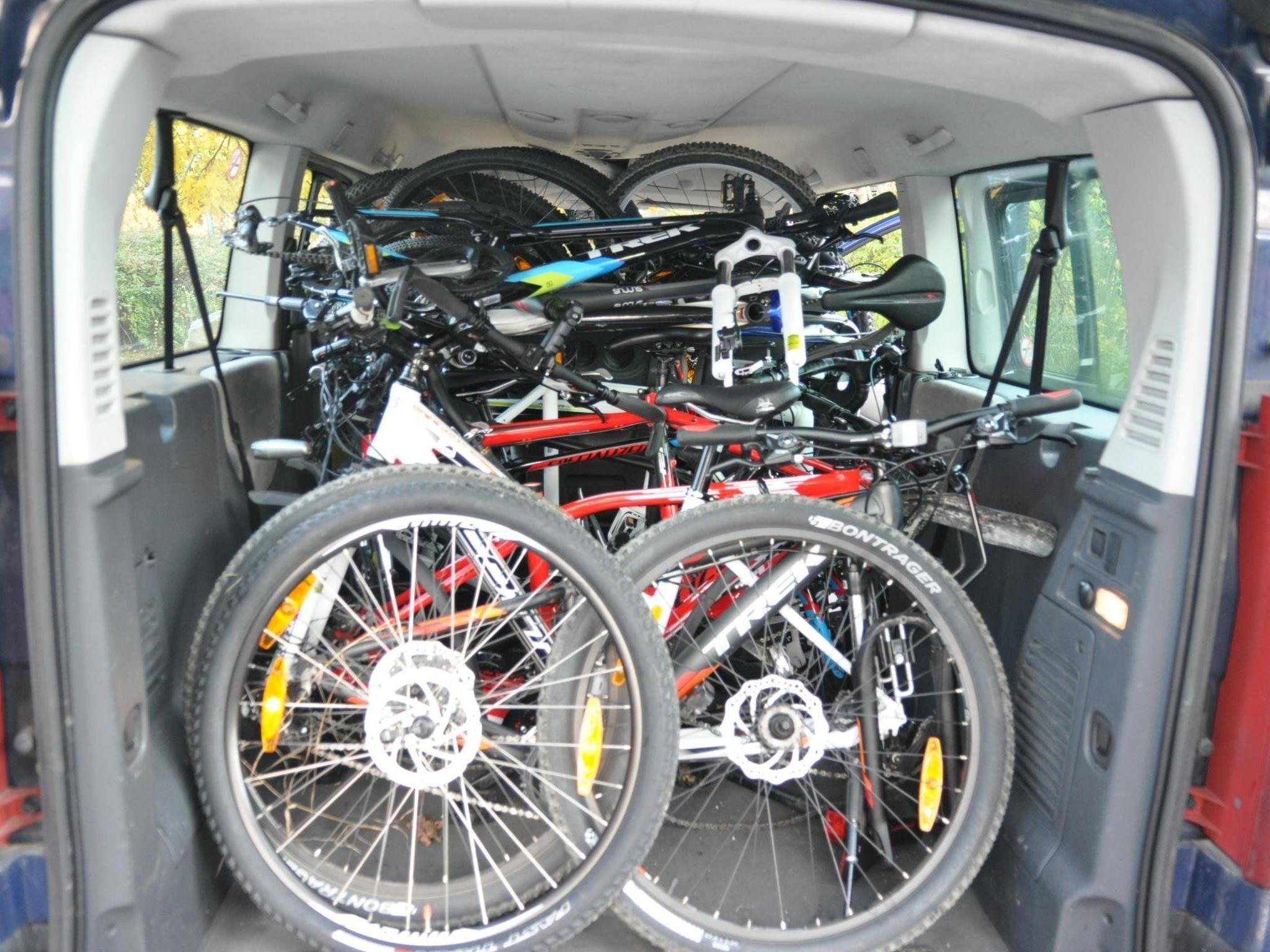 Fahrräder waren ein besonders beliebtes Diebesgut der Bande.