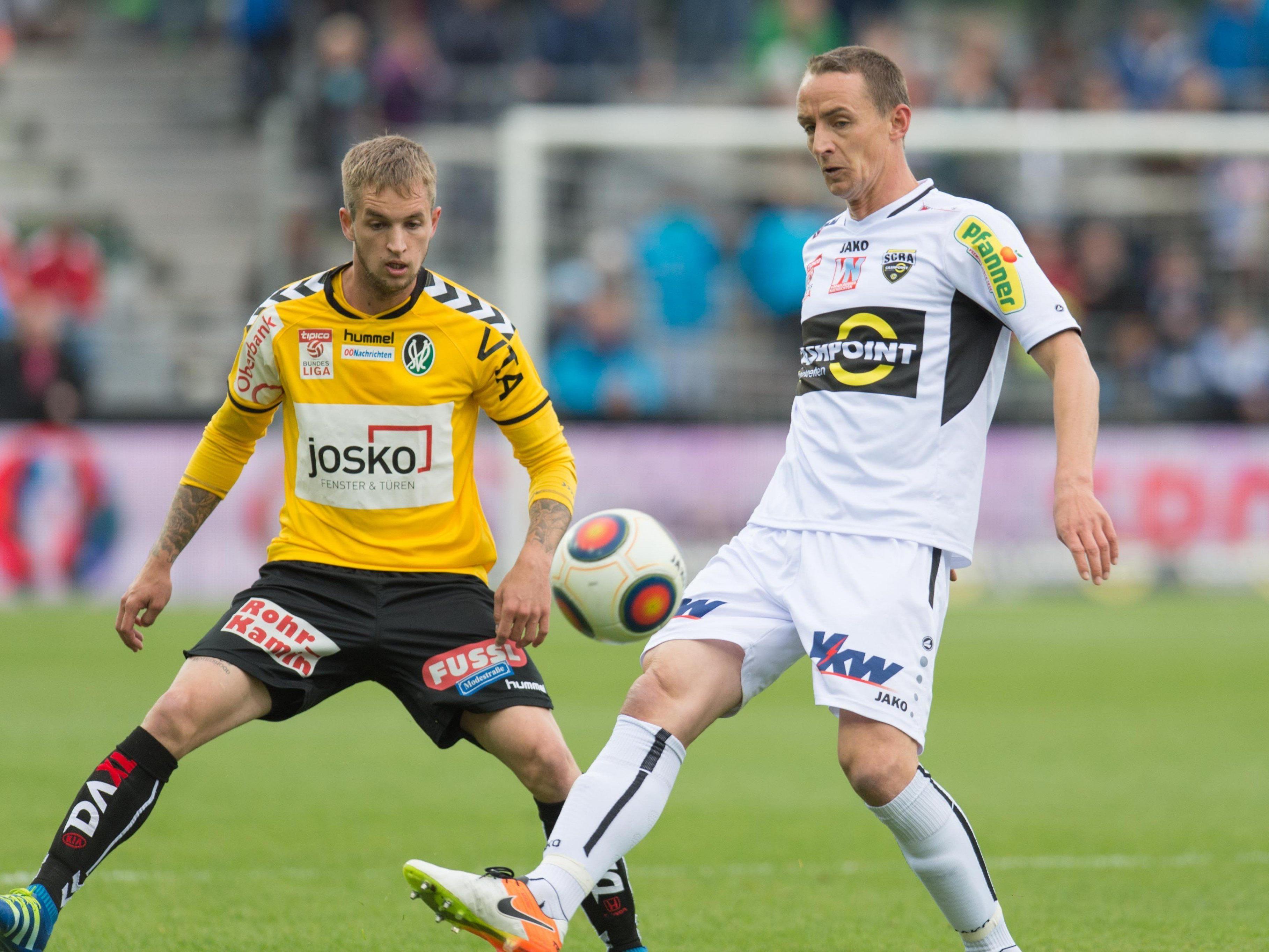 Bernhard Janeczek (links) spielt künftig für Altach.