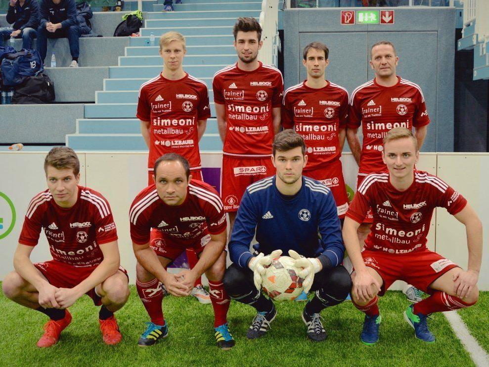 Der FC Andelsbuch belegte beim Harder Seehallencup den zweiten Rang.
