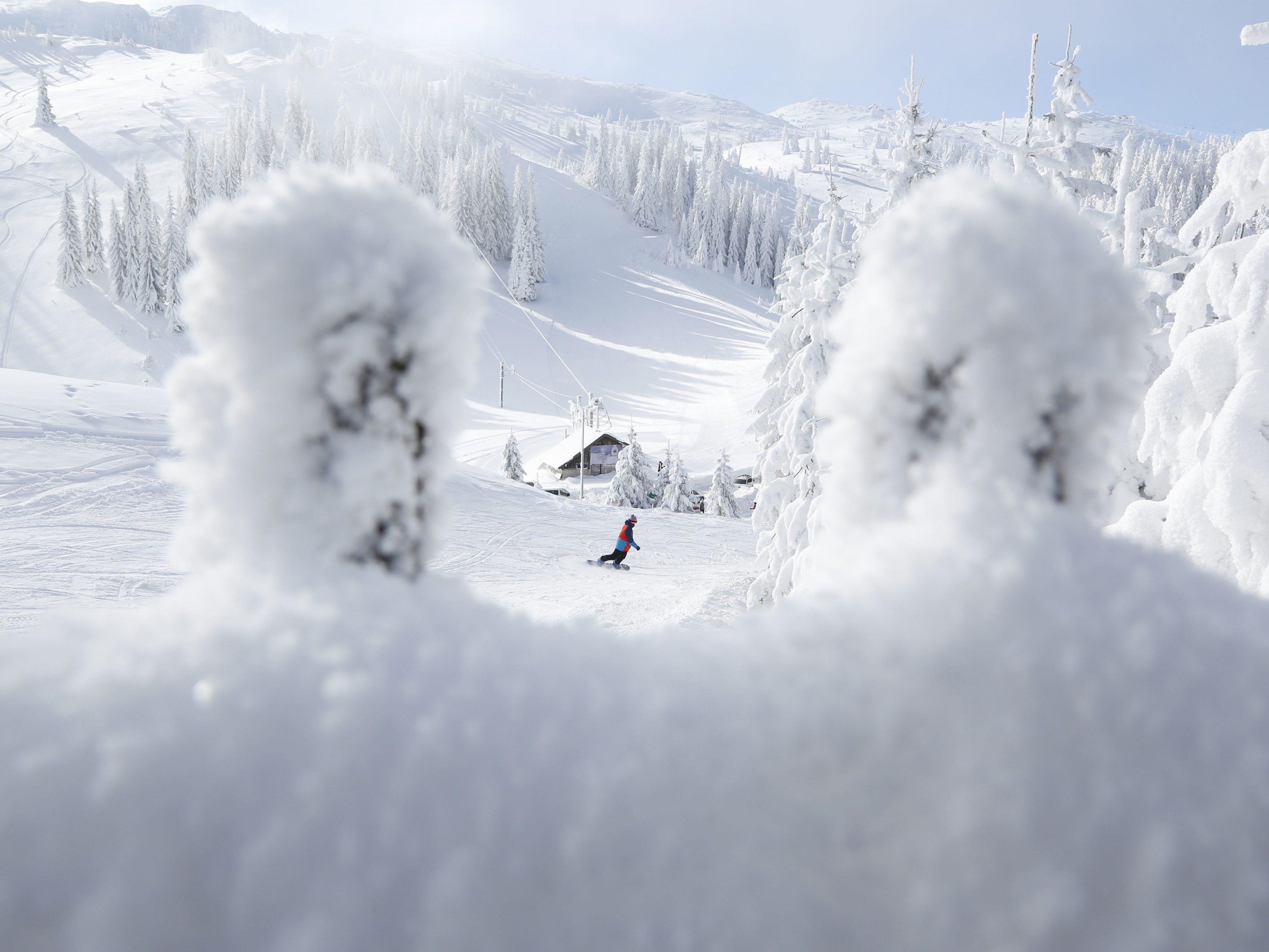 """In den Skigebieten wird immer weniger auf """"Natürliches"""" gesetzt."""