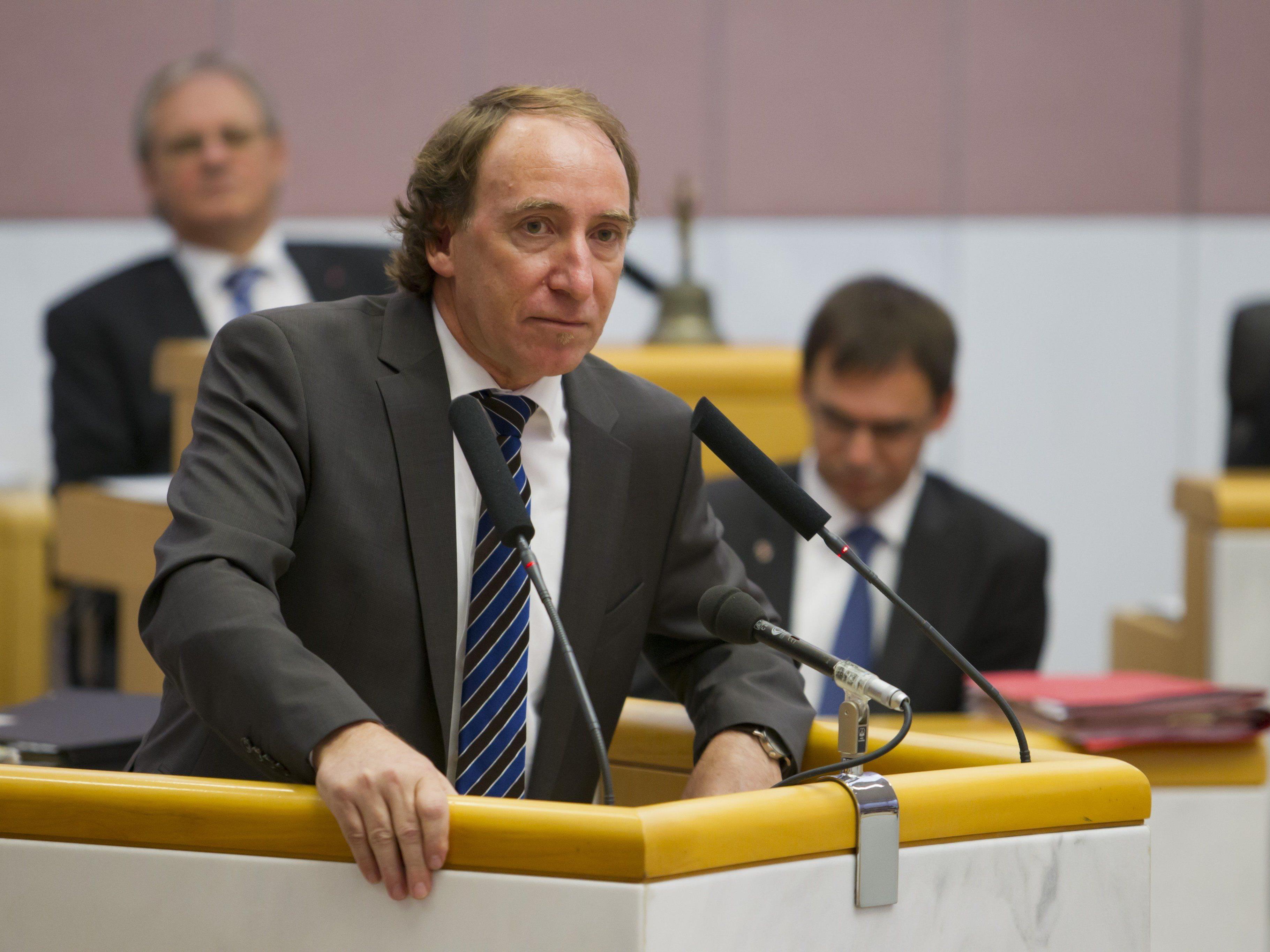 Johannes Rauch plant schon für die Landtagswahl 2019.
