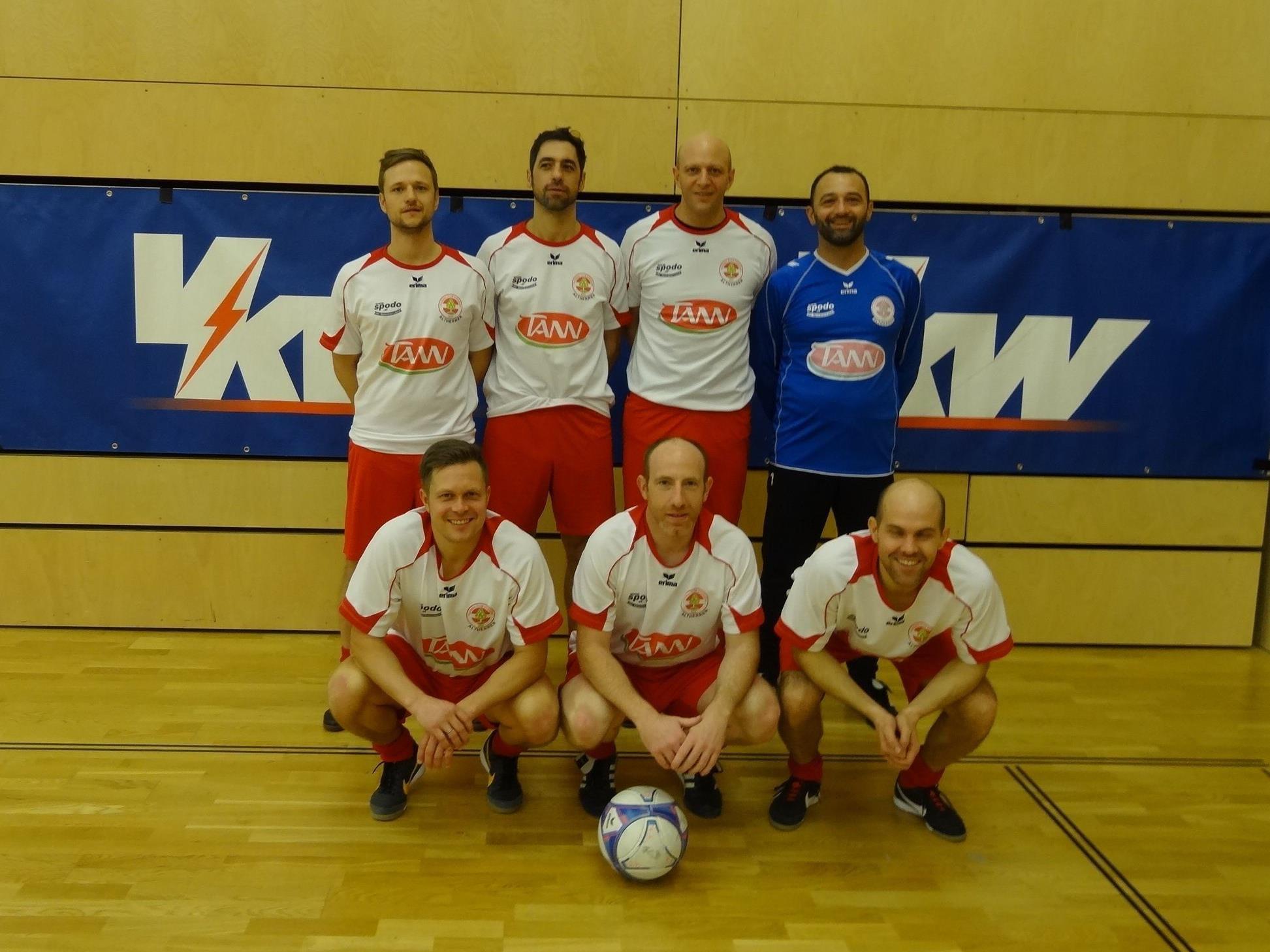 Auch 2017 ging der Turniersieg wieder an das AH-Team des FC Dornbirn.