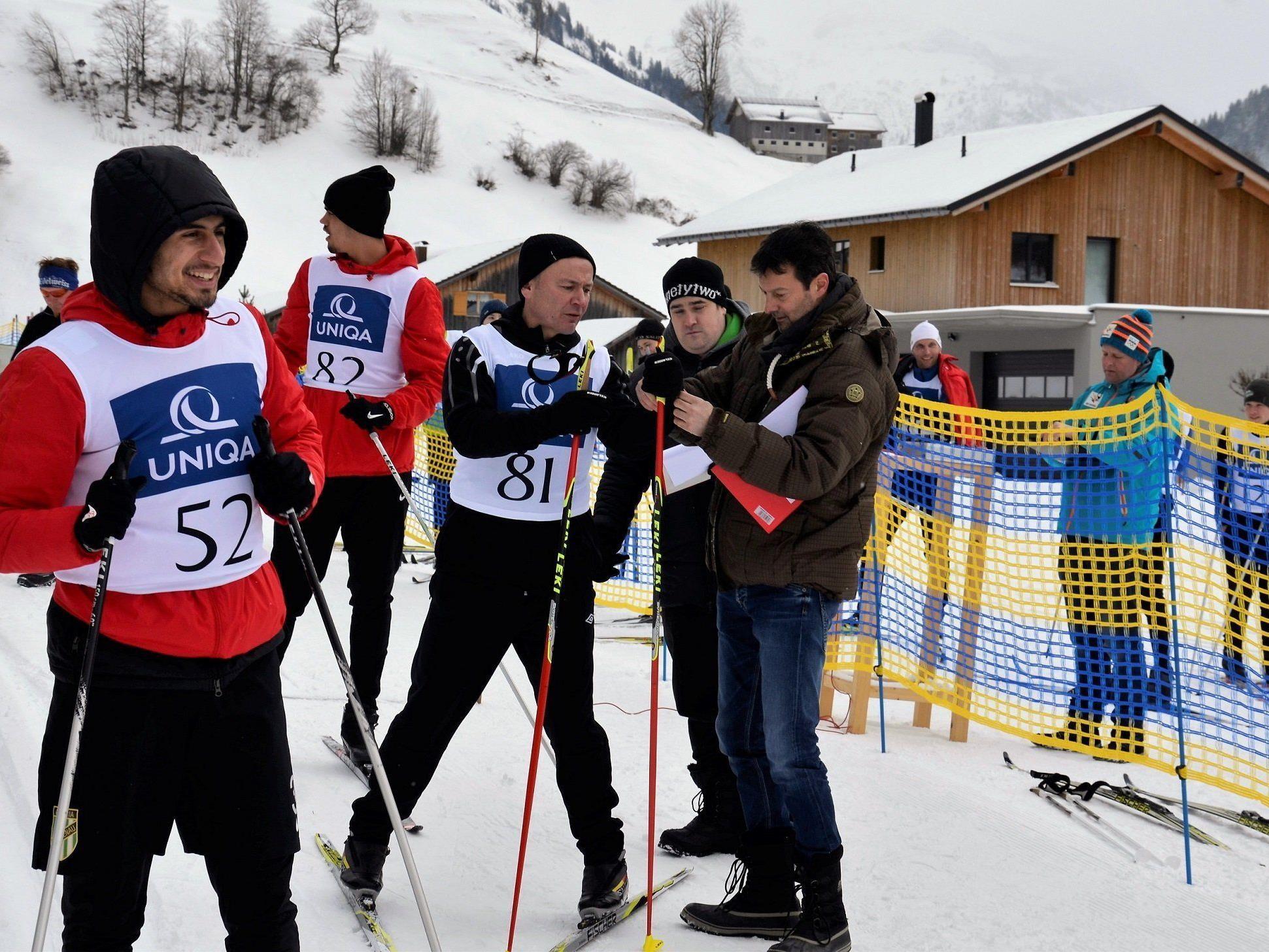 Mannschaft-Biathlon mit SC Austria Lustenau in Au