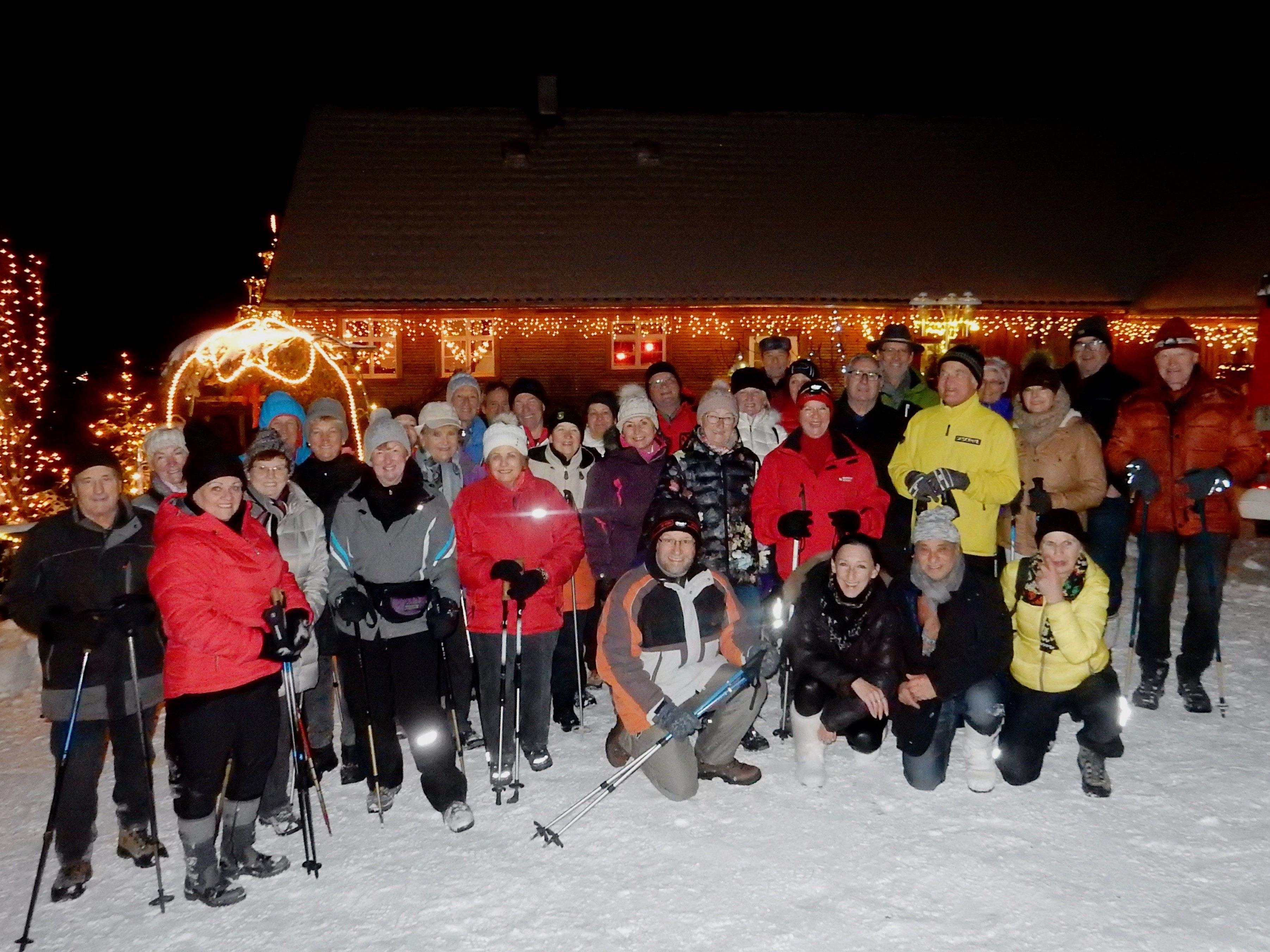 Nachtwanderung ins Weihnachtswunderland