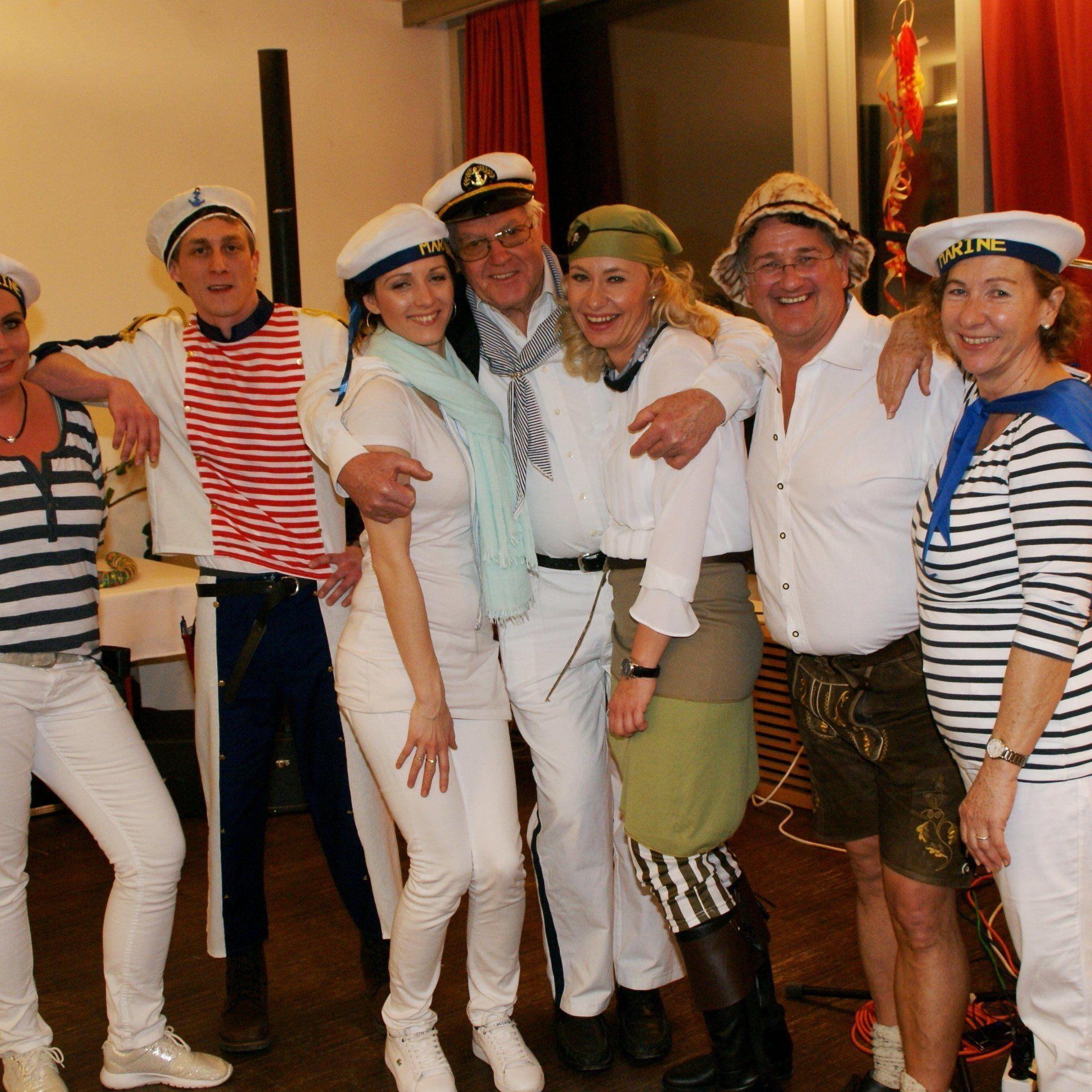 Das Kolping-Team organisierte eine fröhliche Faschingsparty.