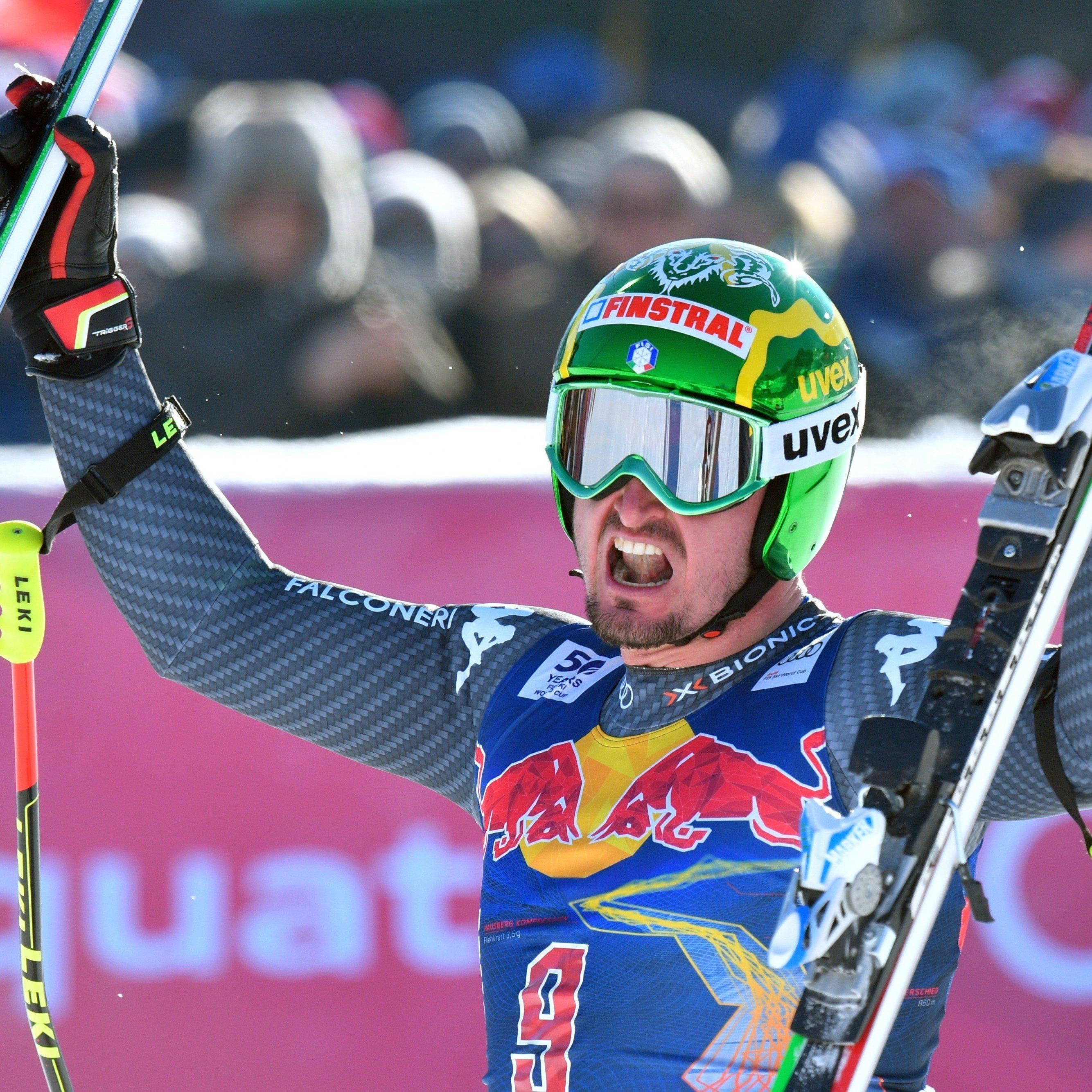 Der Südtiroler Dominik Paris hat bereits 2013 die Abfahrt auf der Streif in Kitzbühel gewonnen.