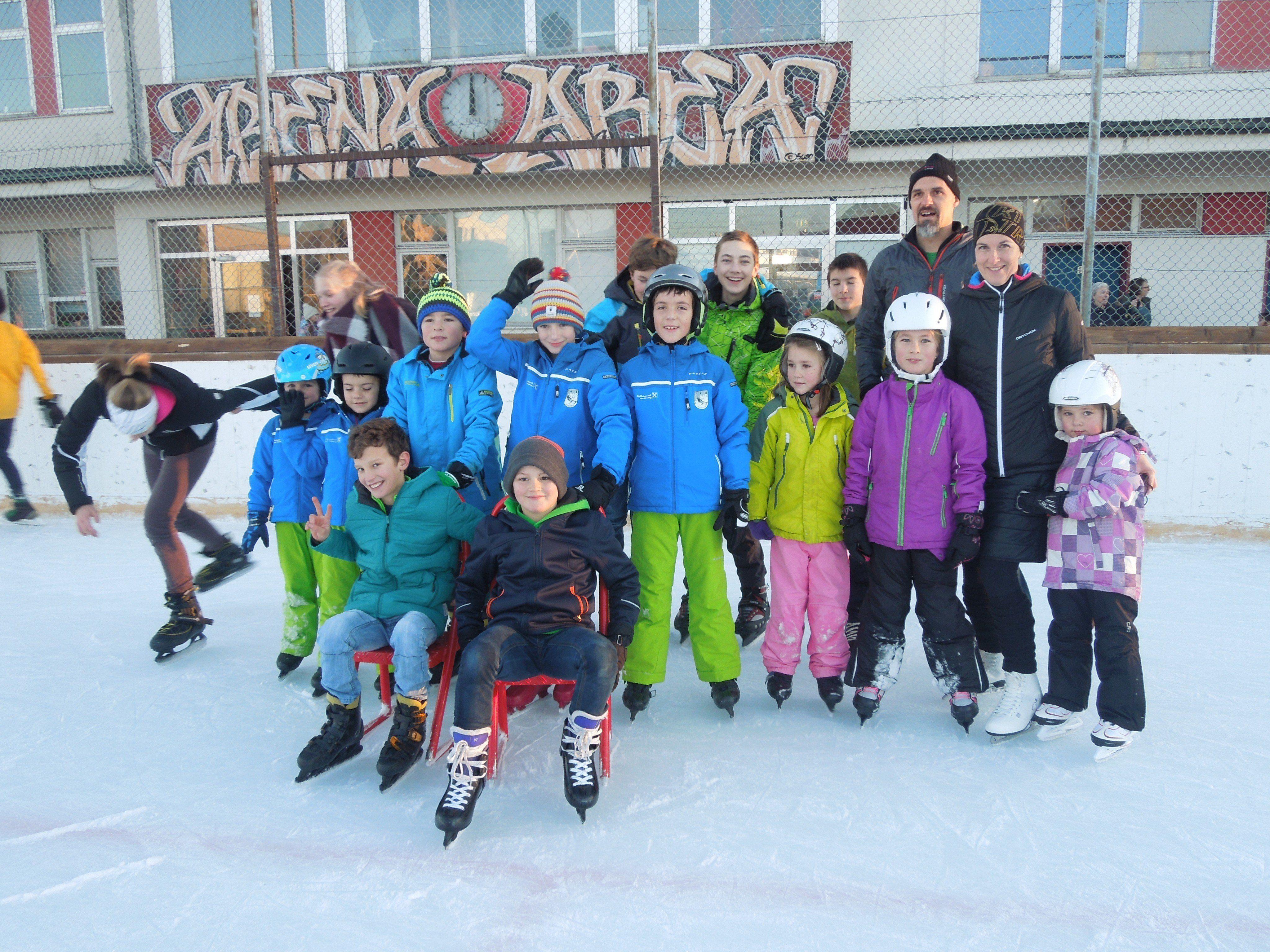 Eislaufen in Dornbirn, Höchsterstrasse