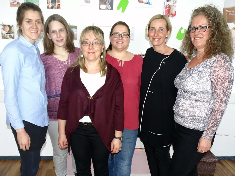 """Das Team von """"Gsund in Hohenems"""" hat im neuen Eltern-Kind-Treff eine neue Heimat gefunden."""