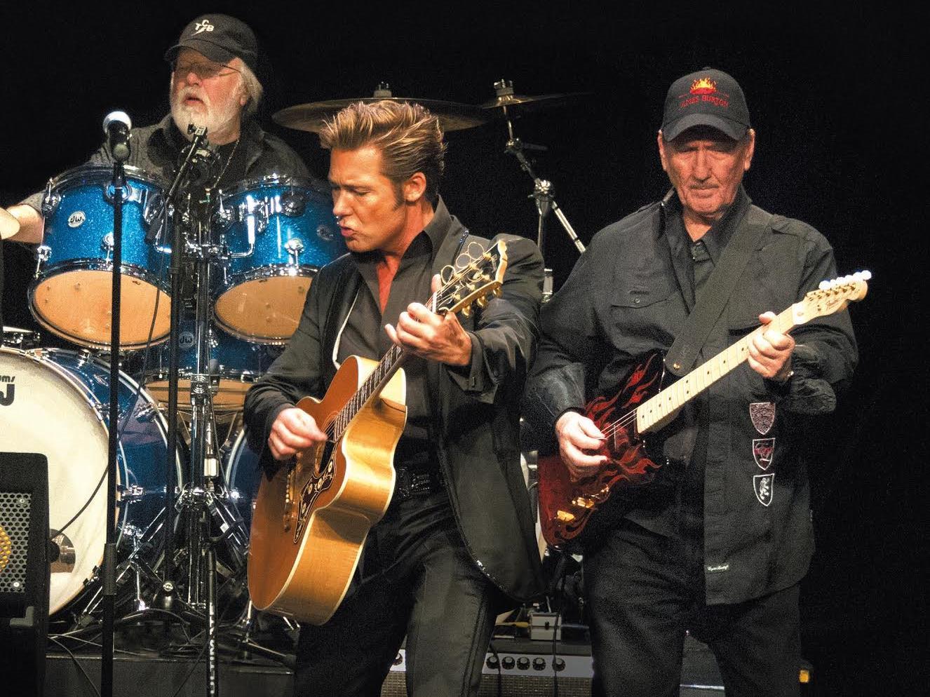 Die Originalband, welche damals mit dem King of Rock'n'Roll Elvis Presley zusammen gespielt hat, kommt am 24. 1. wieder nach Bregenz.
