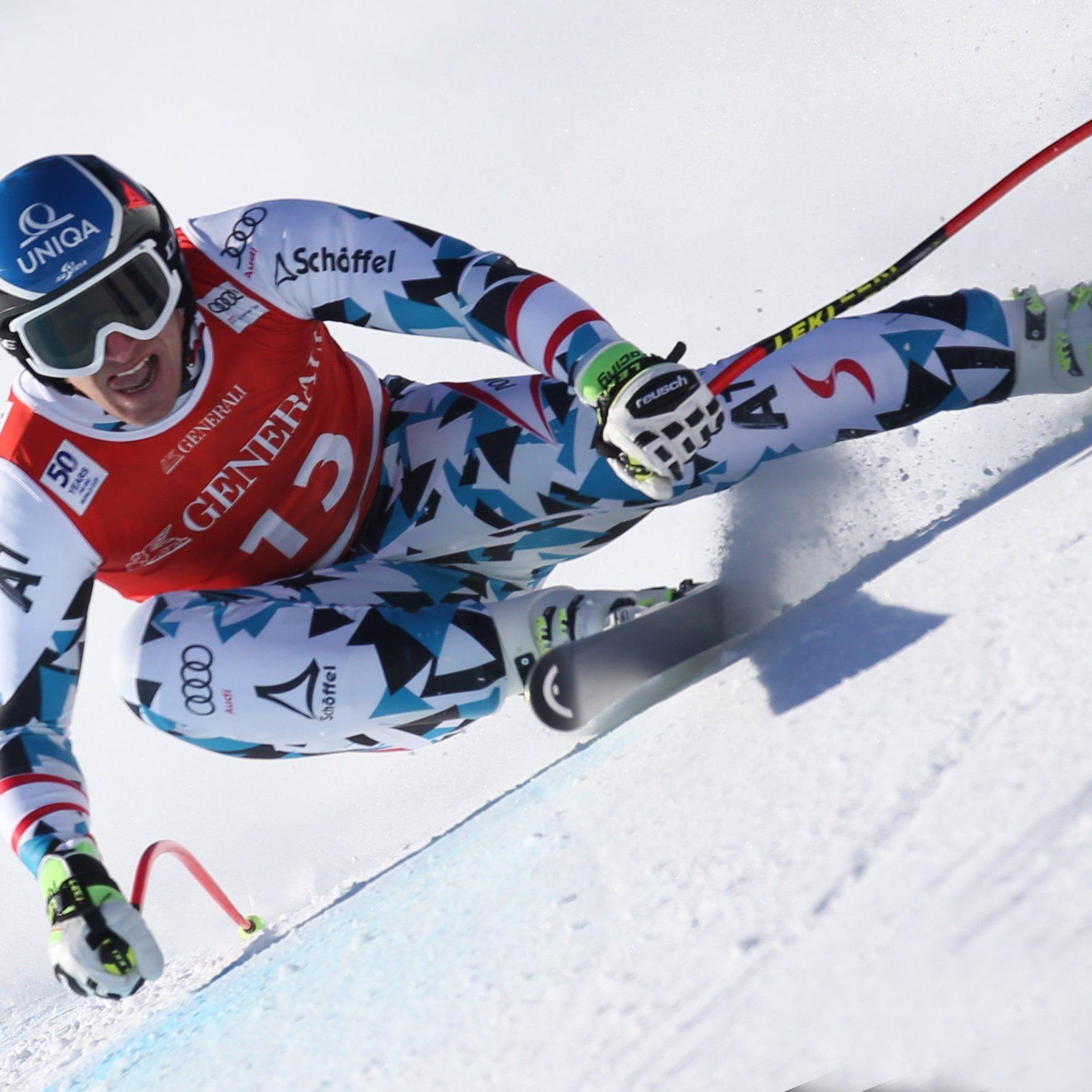 Matthias Mayer holt sich den Sieg im Kitzbühel-Super-G.