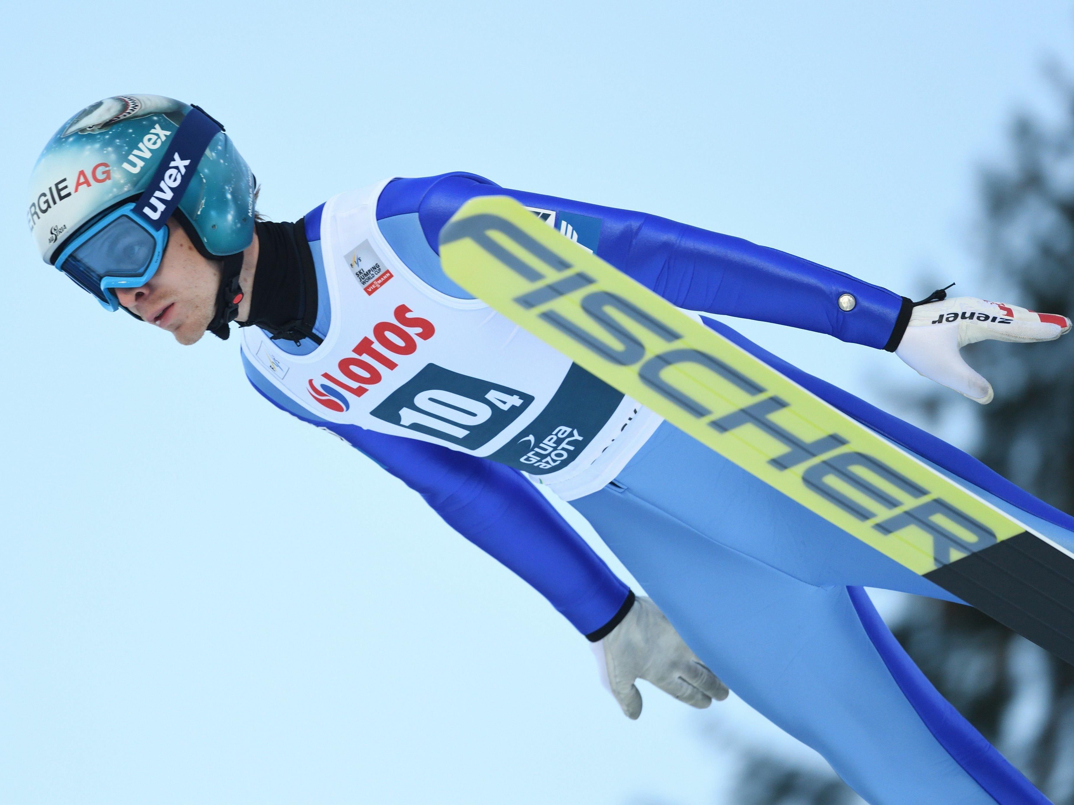 Michael Hayböck kam als bester ÖSV-Springer auf den 5. Rang.