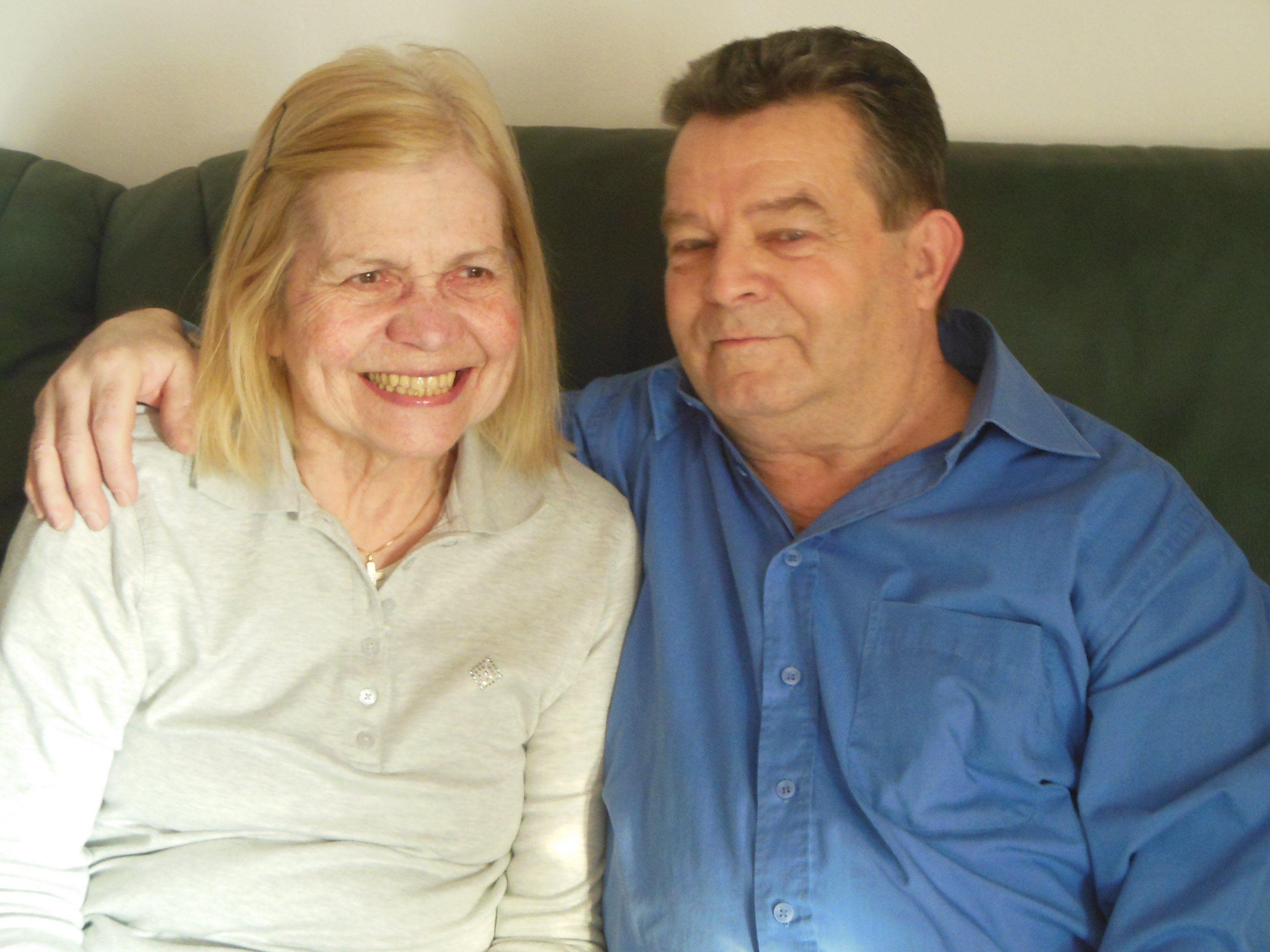 Nach 50 Ehejahren sind Helga und Anton Schöll ein eingespieltes Team.