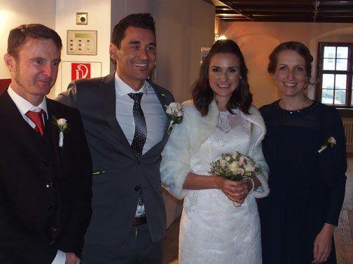 Hochzeit von Martina und Markus.