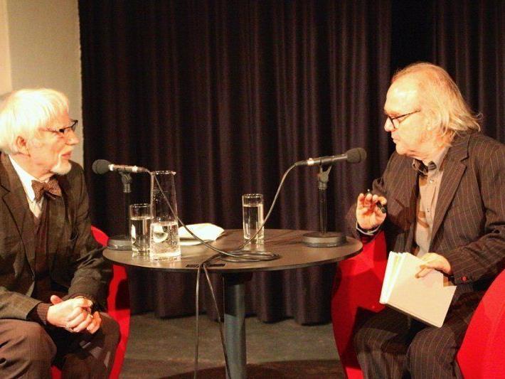 Jan Assmann (links) und Michael Köhlmeier diskutierten über die monotheistischen Religionen und ihre Ur-Texte.