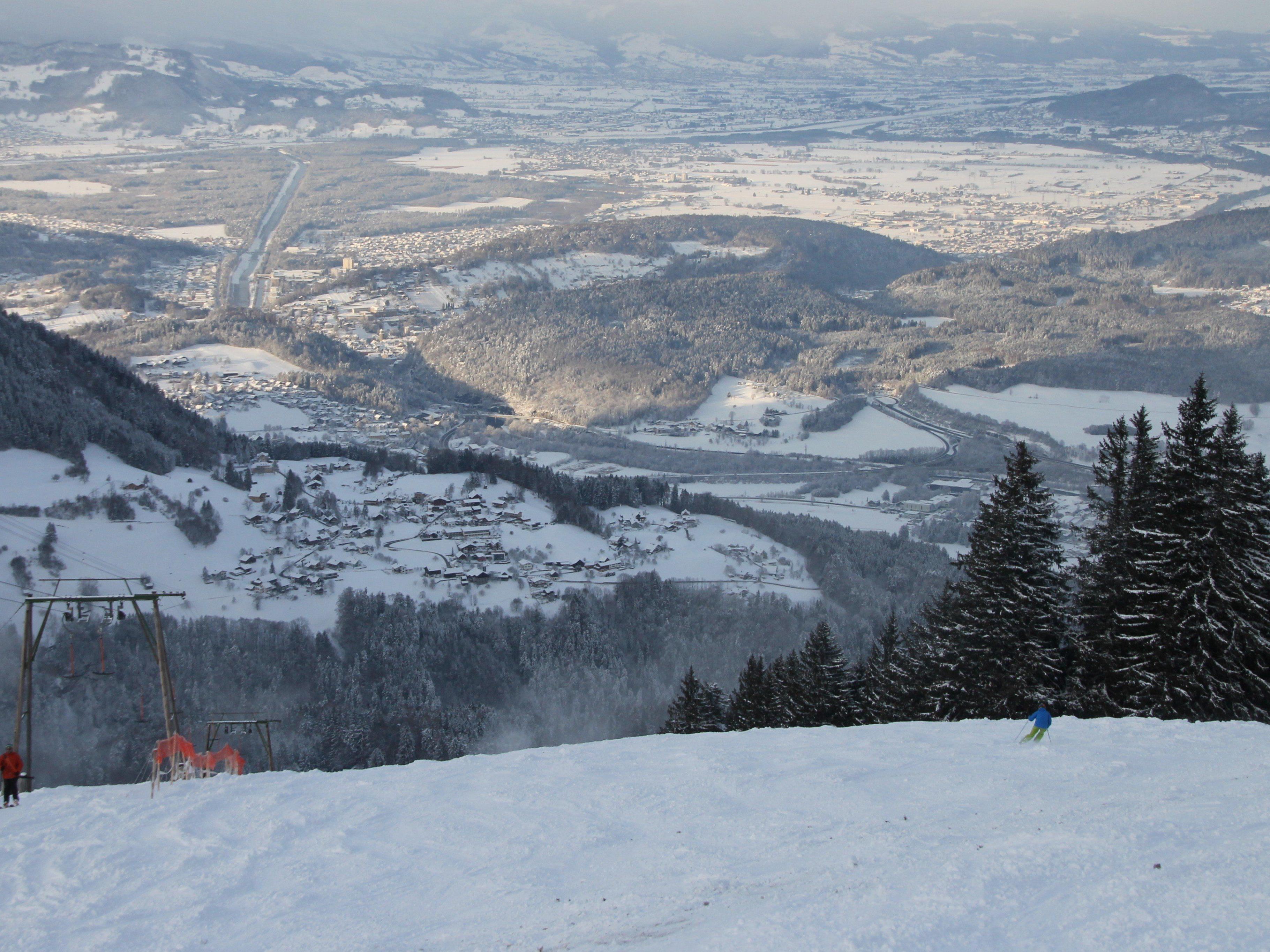 Skisaison auf Bazora erfolgreich eröffnet.
