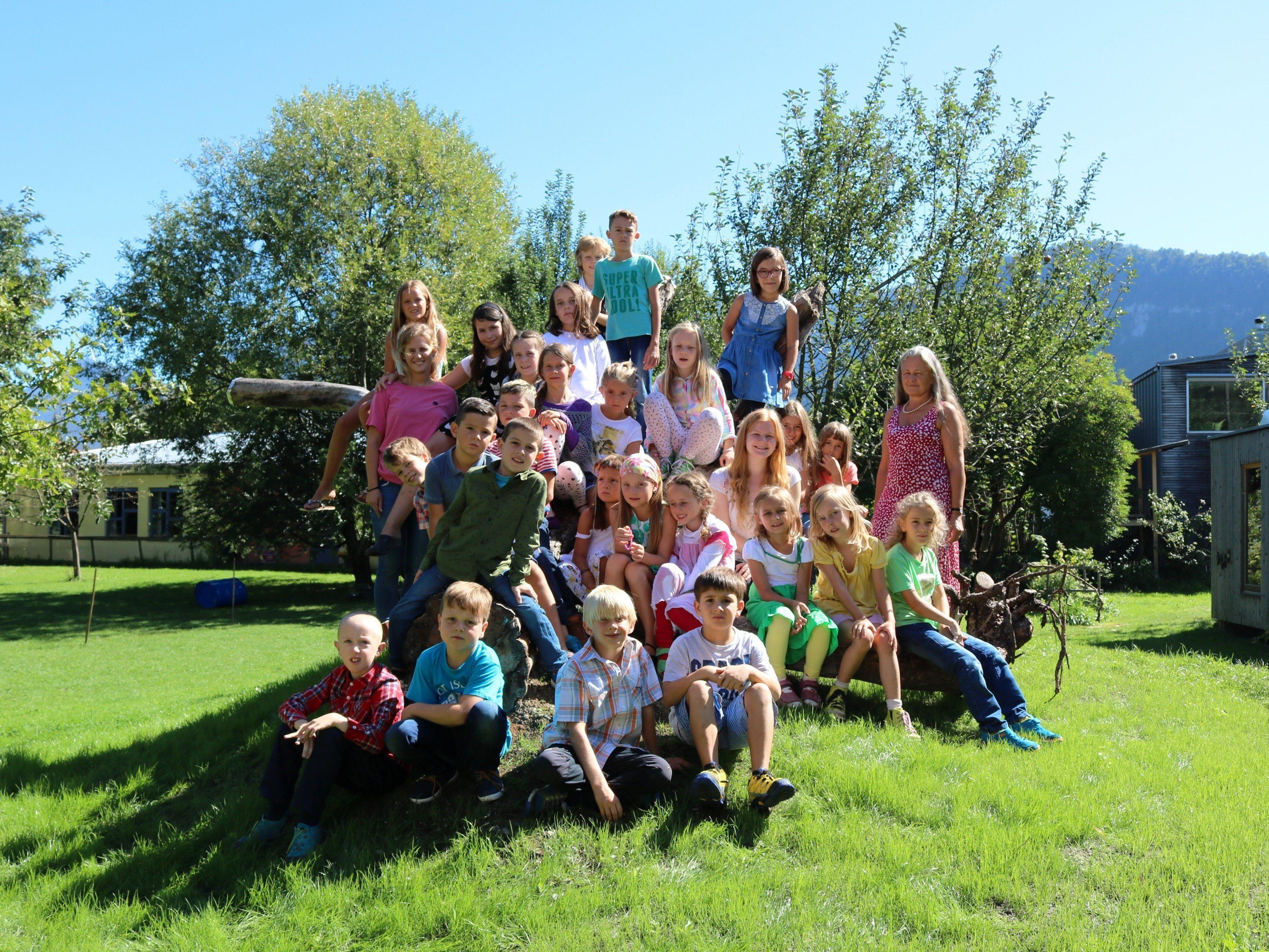 Die Kinder der Familienschule Rheintal