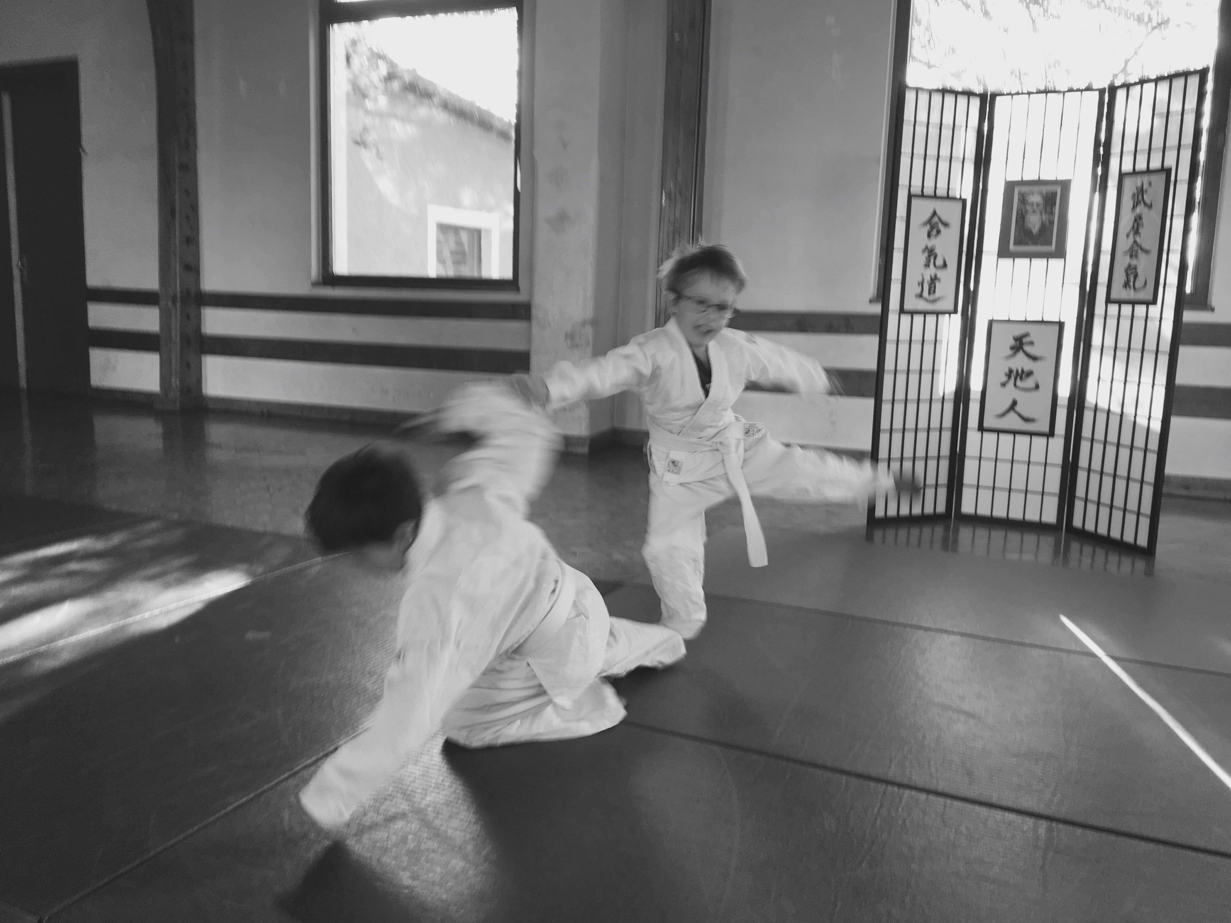 Aiki-Kids in action