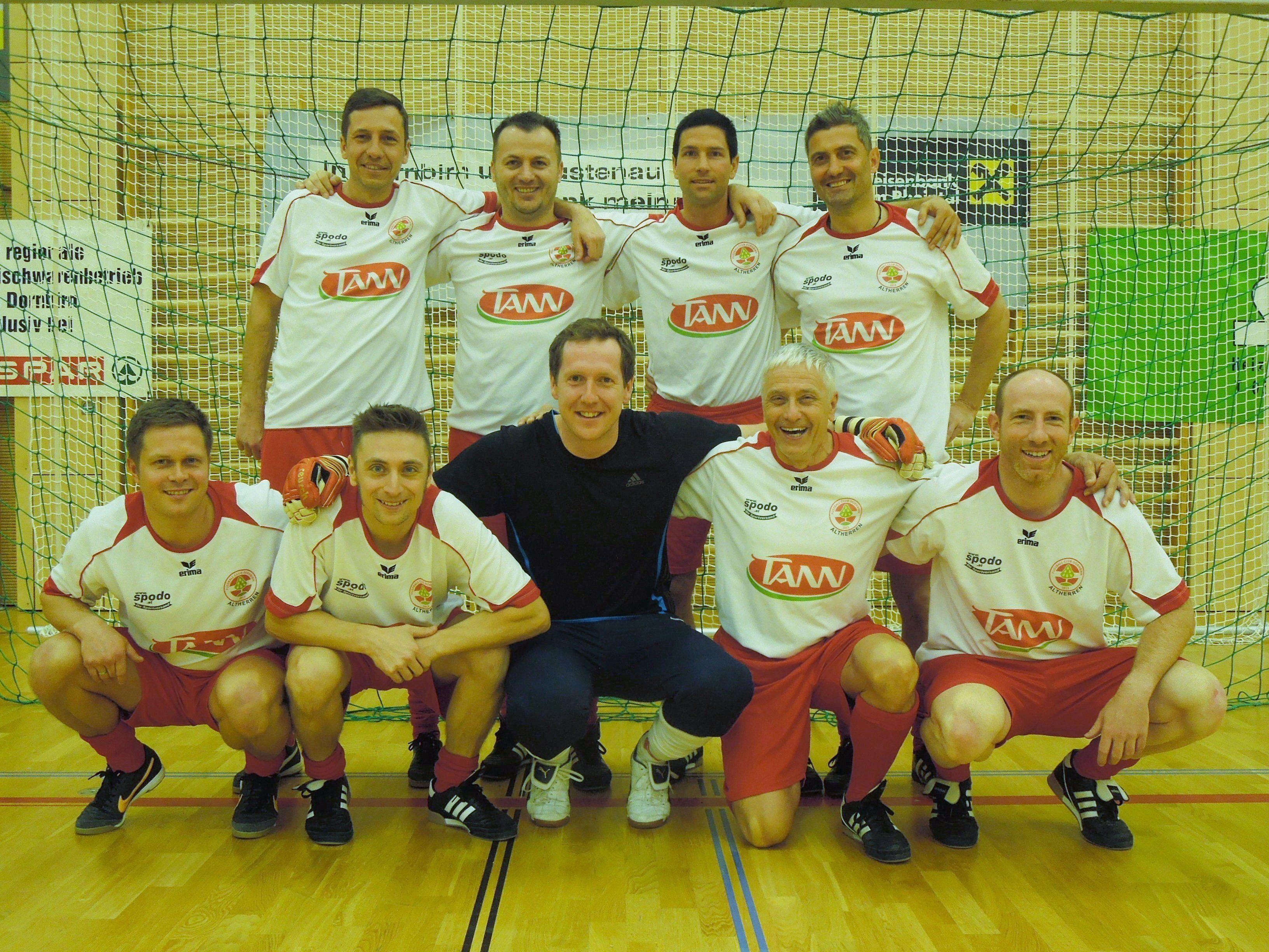 Der FC Dornbirn geht als Titelverteidiger in das diesjährige Fritz Rafreider Gedächtnisturnier.