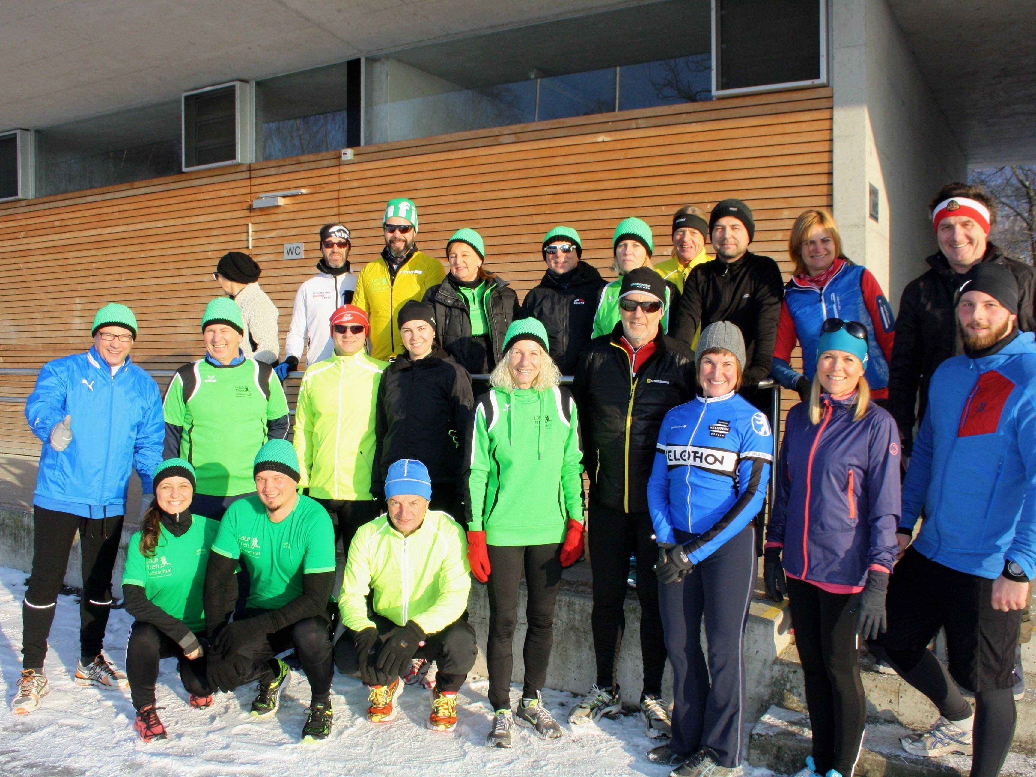 Auch beim 17. Lochauer Dreikönigslauf waren wieder zahlreiche begeisterte Laufsportfreunde aktiv mit dabei.