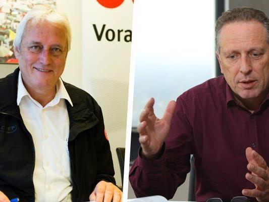 Norbert Loacker und Hubert Hämmerle kritisieren die Regierungskoalition.