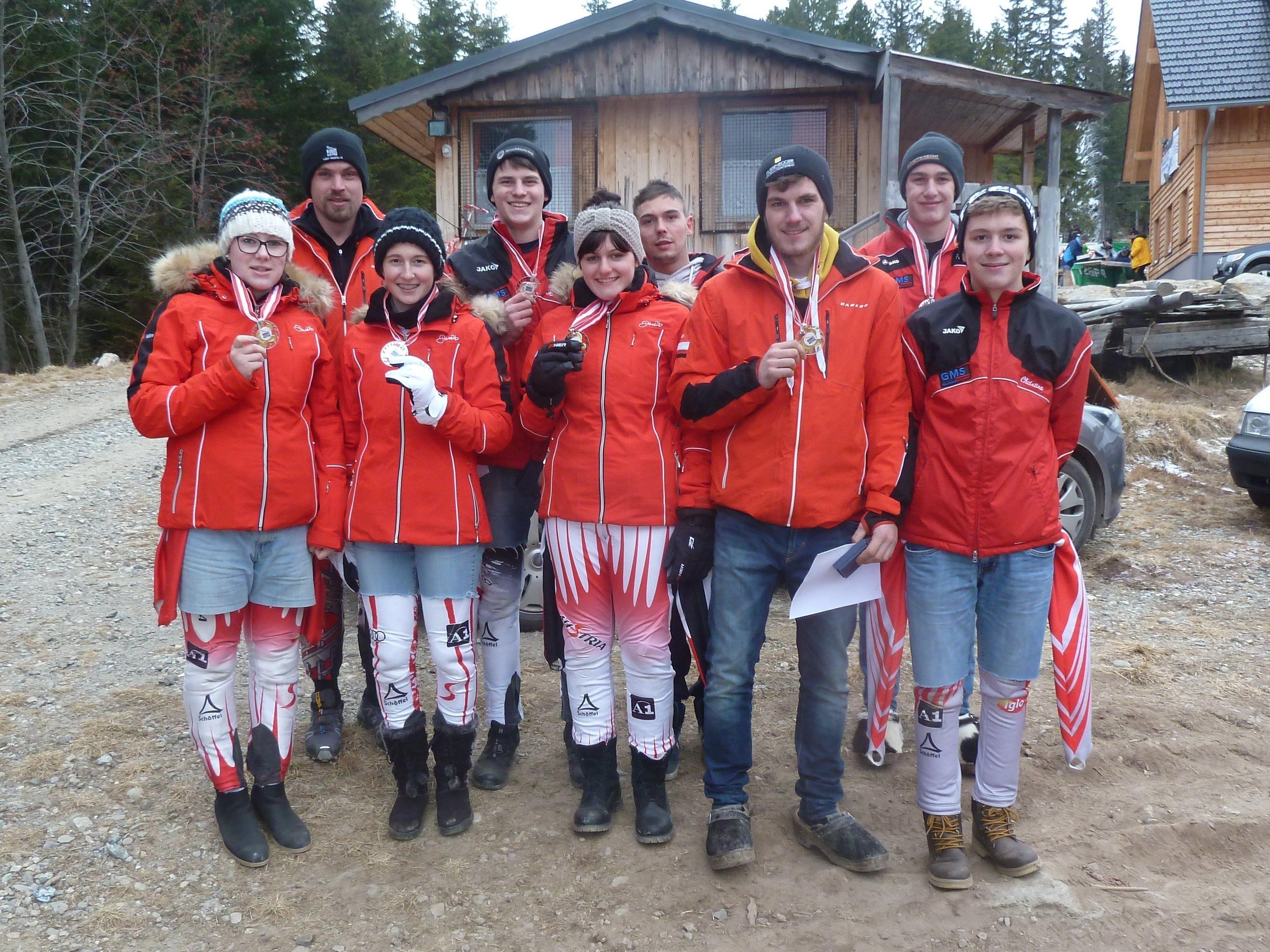 Rodelclub Dornbirn Austria Cup 2016/17