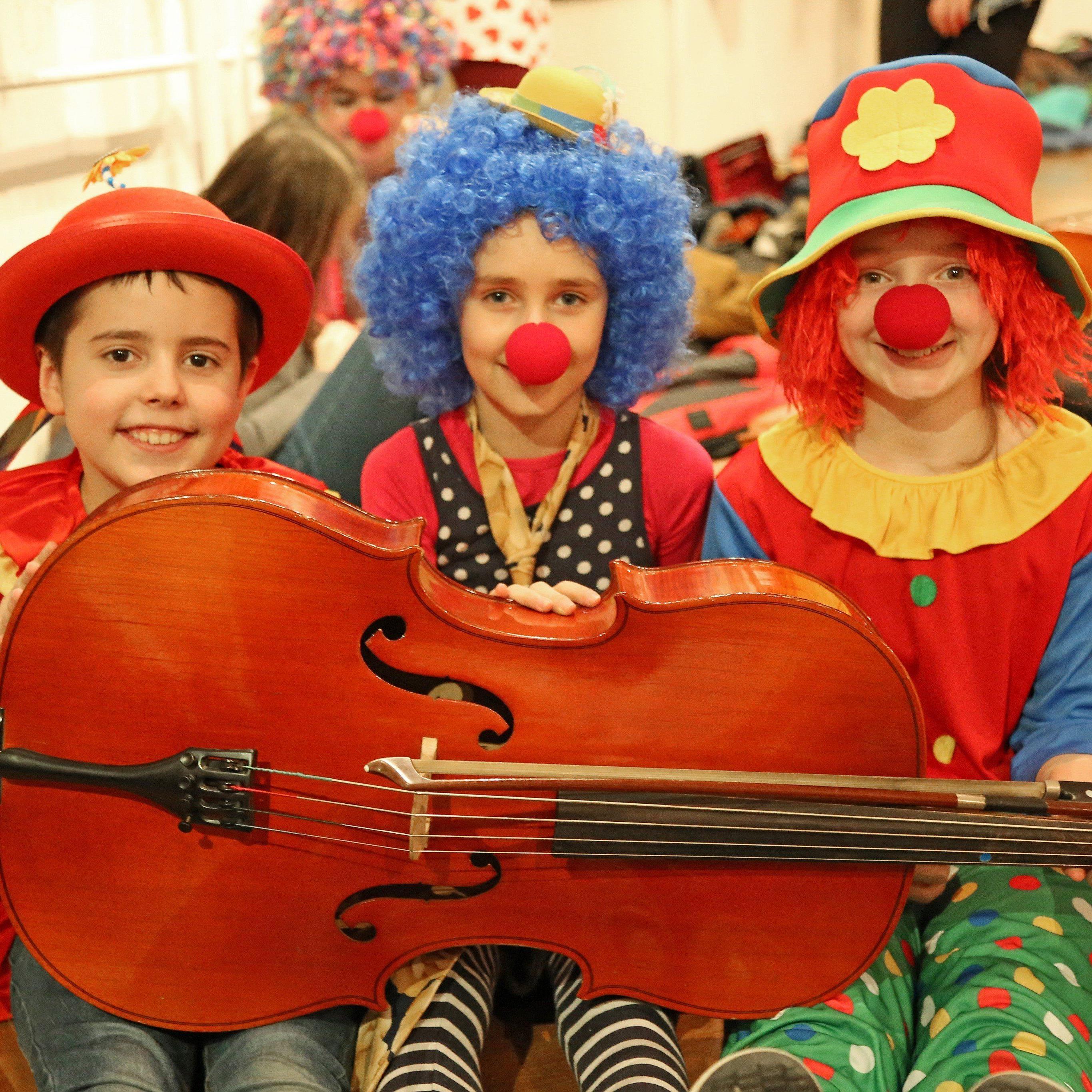 Faschingskonzert der Musikschule Feldkirch