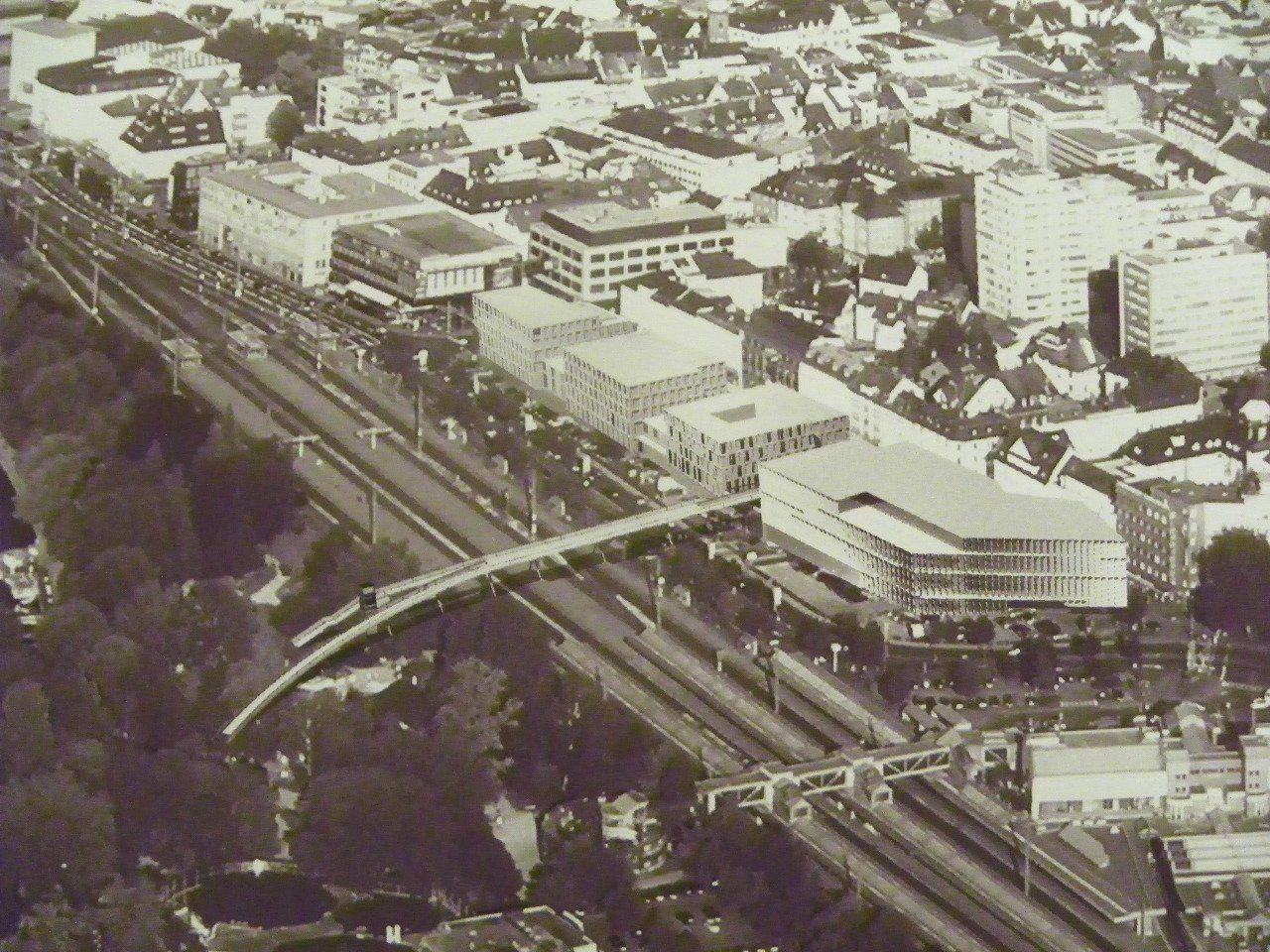 Das Modell der Seestadt wurde anfang Mai 2010 in Bregenz der Öffentlichkeit präsentiert.