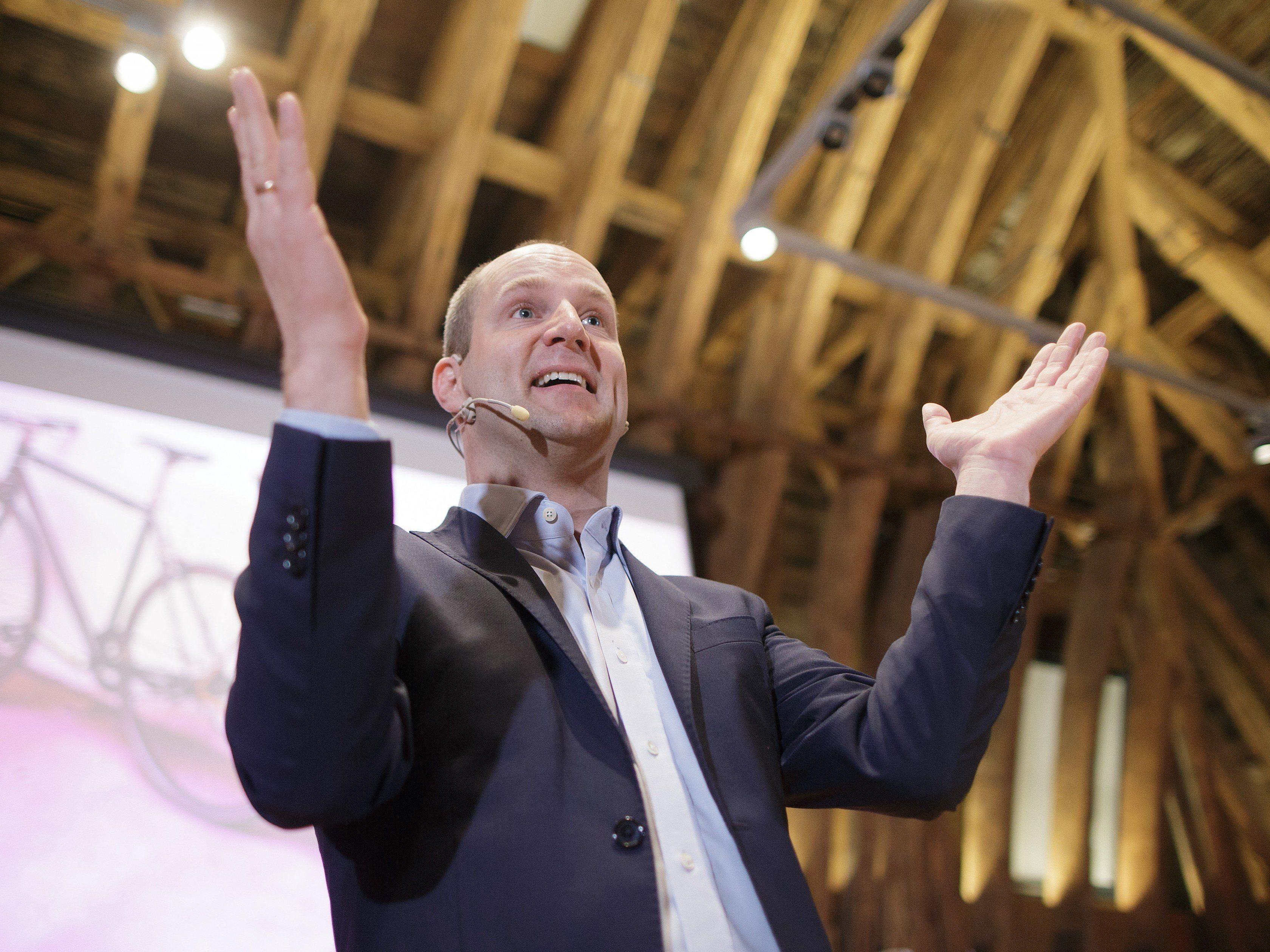 Matthias Strolz bleibt Parteichef der NEOS.