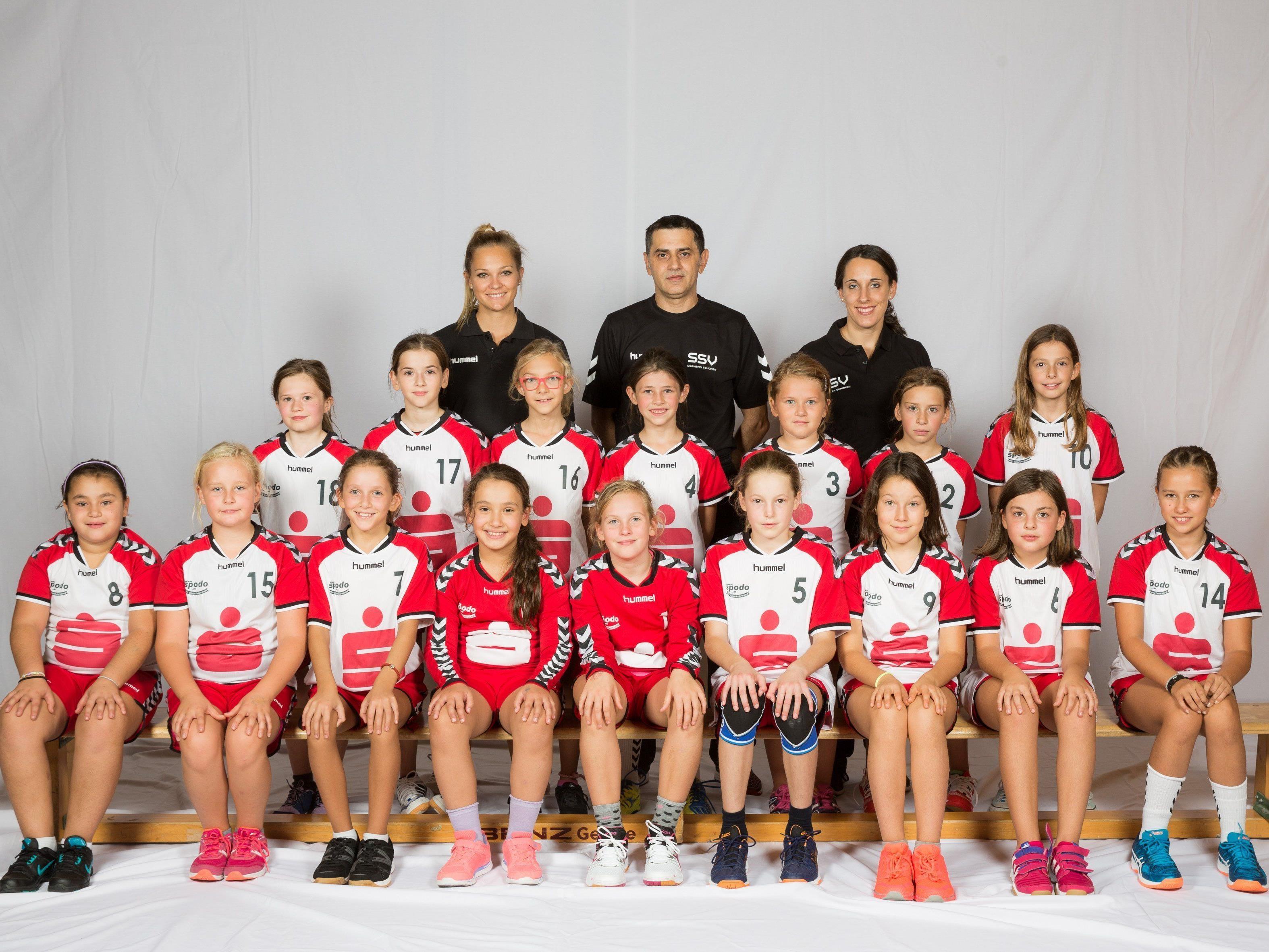 Die SSV-Spielerinnen beeindruckten gleich am ersten Spieltag mit hervorragenden Leistungen.