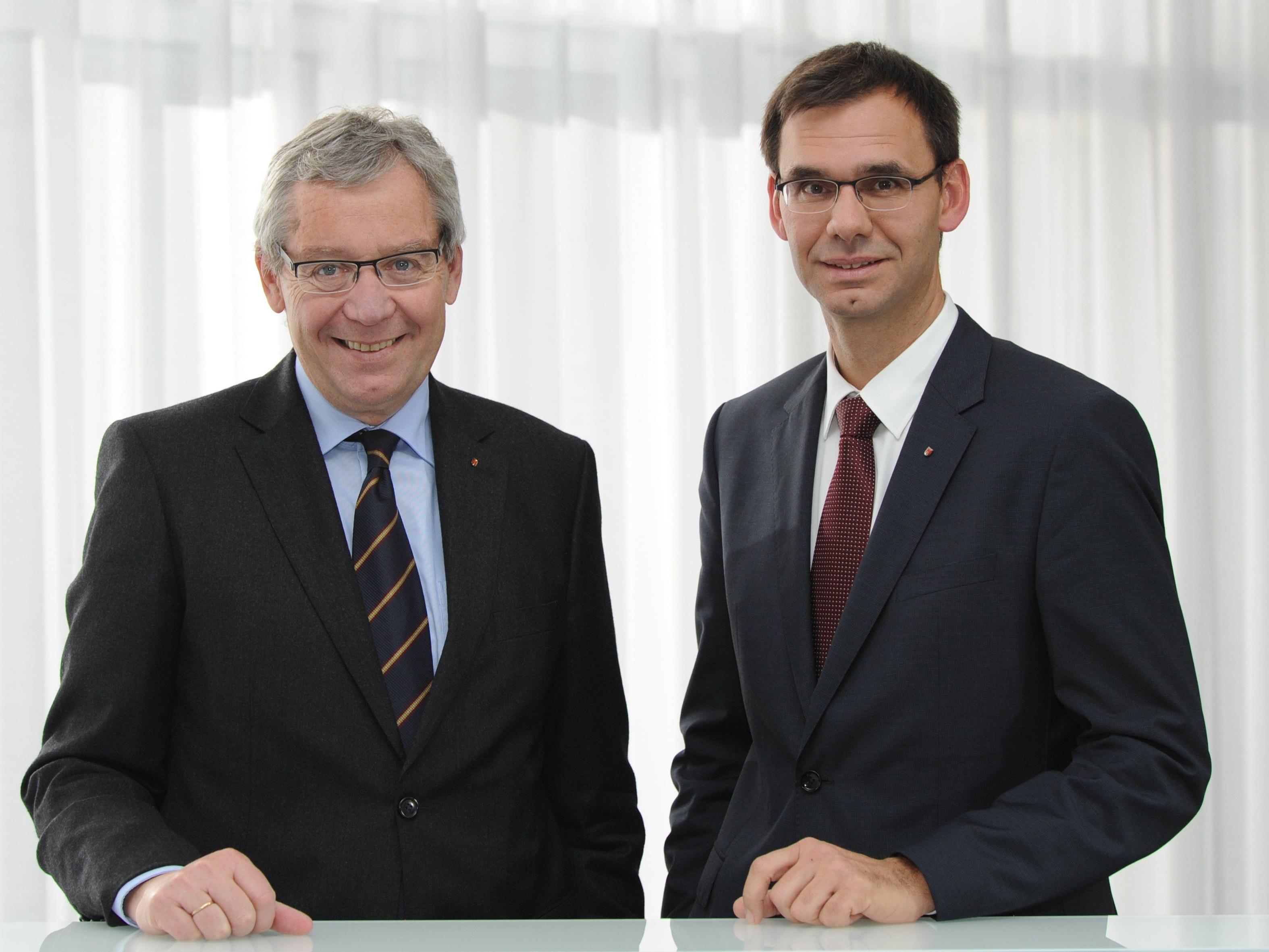 LH Wallner und LSth. Rüdisser: Erneuter Beleg für Wettbewerbsfähigkeit der heimischen Wirtschaft.