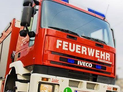 Die Feuerwehr musste in Floridsdorf aufgrund eines Wohnungsbrandes ausrücken