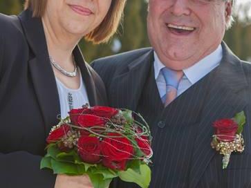 Elsbeth Reiner und Werner Samide haben geheiratet