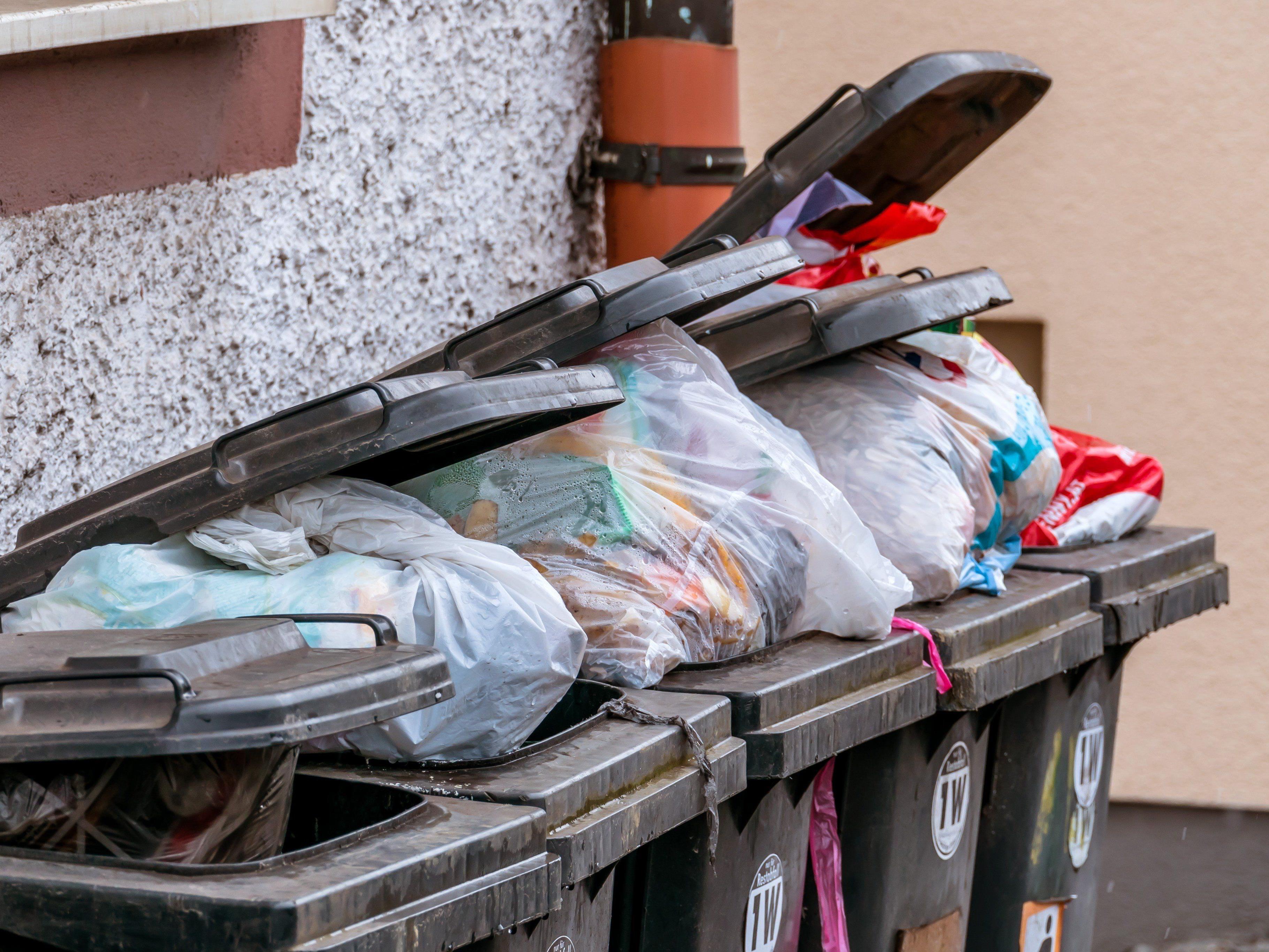 Die Ausgabe der Müllsäcke in Dornbirn beginnt am 30. Jänner