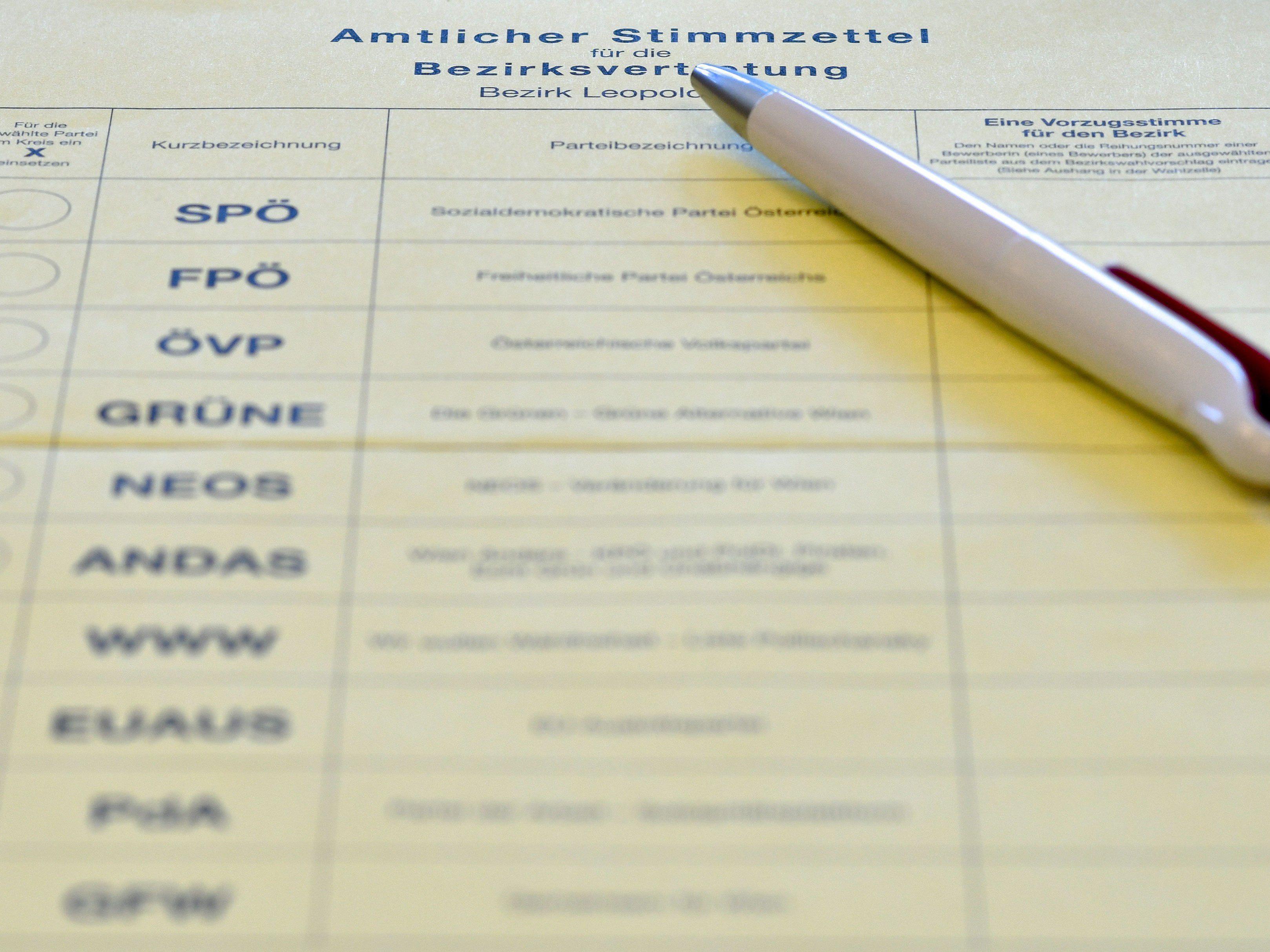 In Wien-Leopoldstadt wurde erneut gewählt