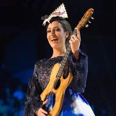 Dajana beim National Costume Bewerb