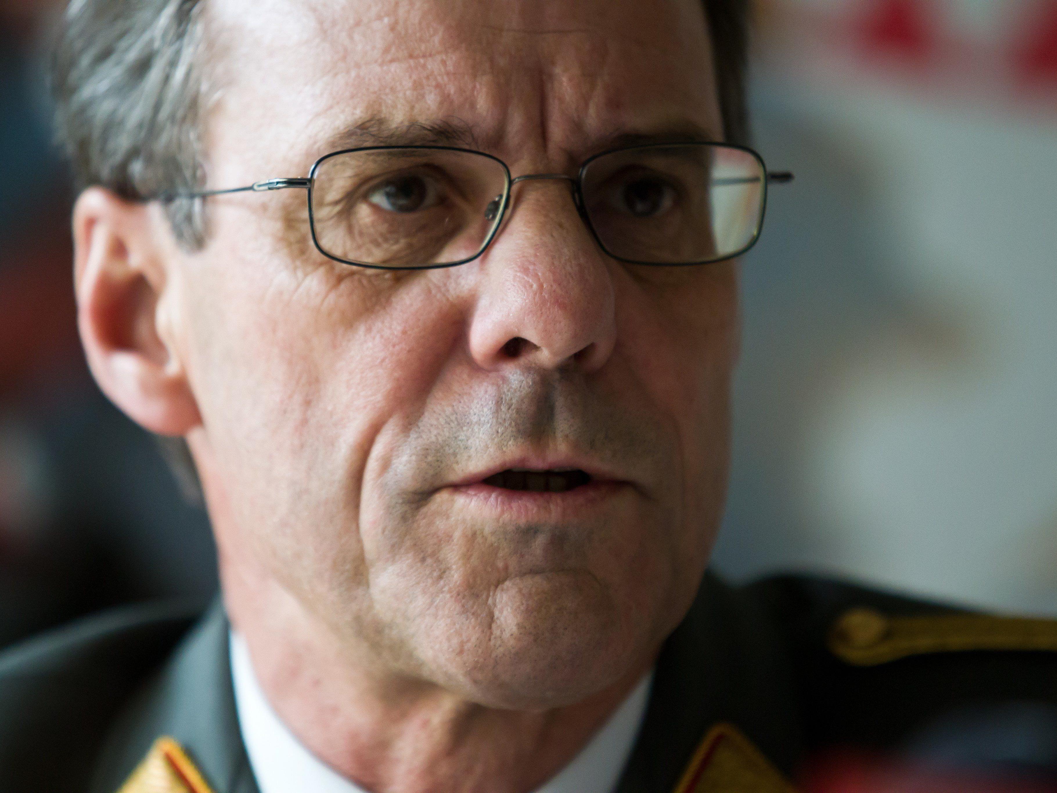 Militärkommandant Ernst Konzett ist sich sicher, die 100 freien Stellen beim Bundesheer in Vorarlberg besetzen zu können.