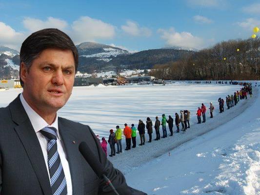 FPÖ-Kluobmann Daniel Allgäuer empfiehlt der Großbäckerei Ölz die Suche nach einem alternativen Standort.