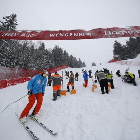 Zu viel Neuschnee in Wengen