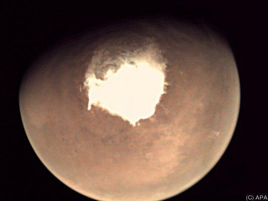 """Die Sonde """"Mars Express"""" machte aufschlussreiche Bilder"""