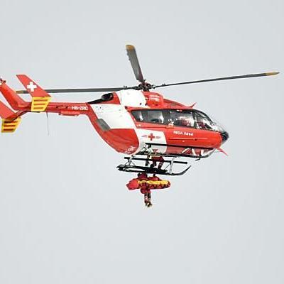 Puchner wurde mit dem Hubschrauber abtransportiert