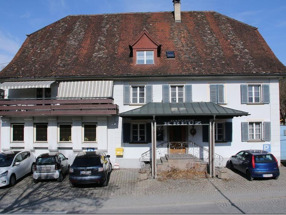 """Gasthaus Kreuz in Rankweil ein """"Schandfleck"""""""