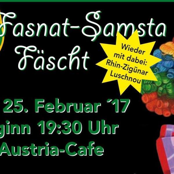 Fasnat-Samsta-Fäscht bei der Austria
