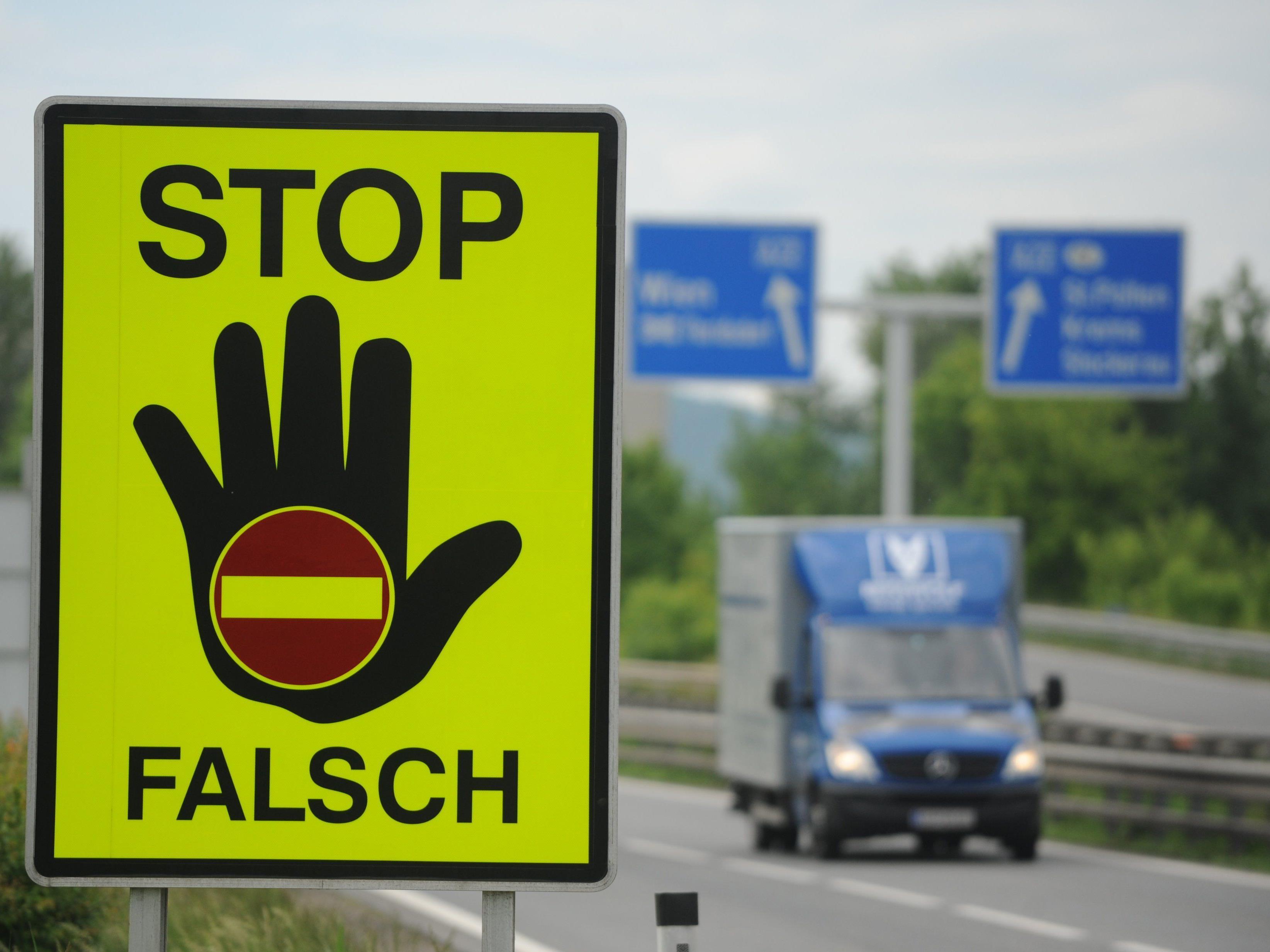 In Vorarlberg wurden im vergangenen Jahr 12 Geisterfahrer gemeldet.