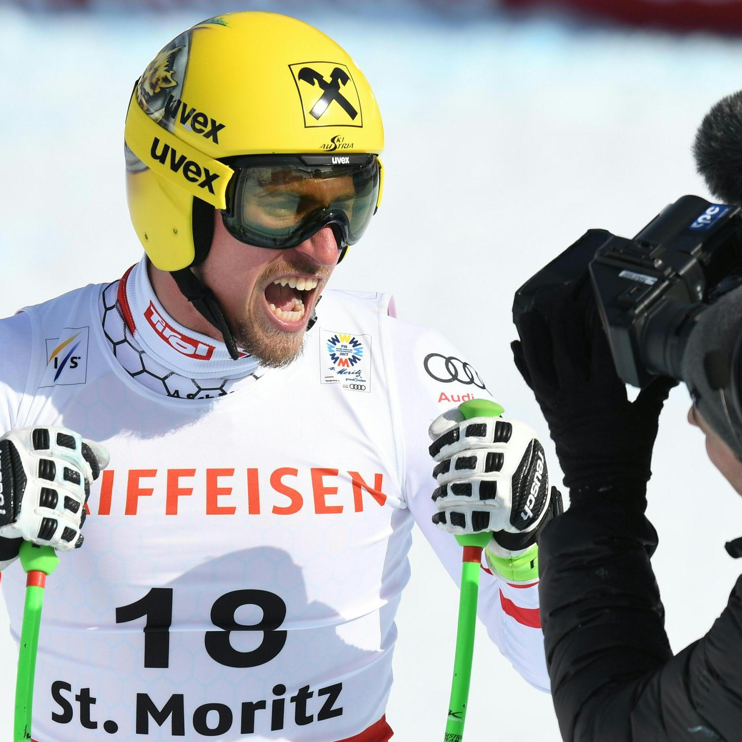 Max Franz überrascht mit Bronze-Abfahrt.