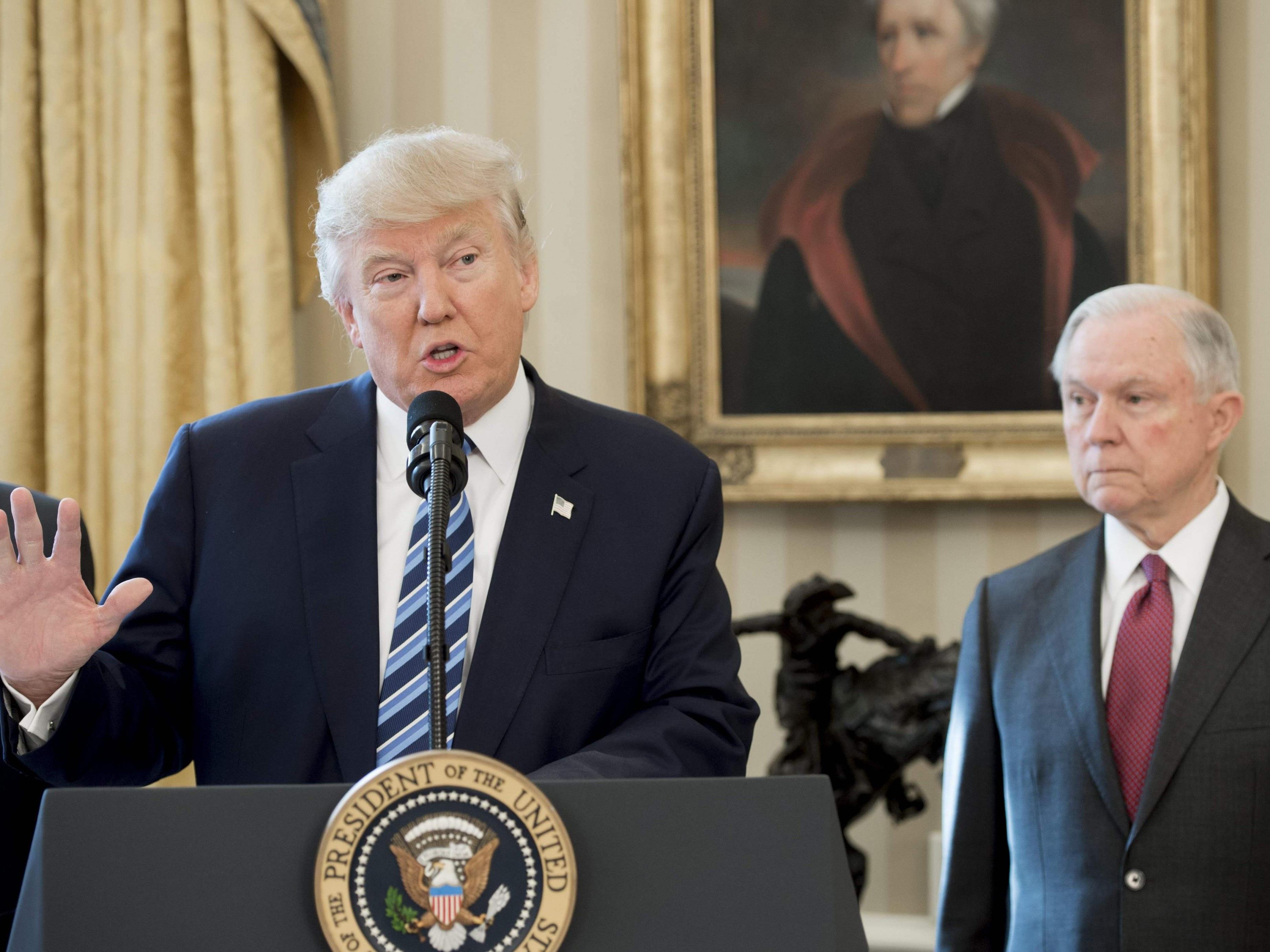 Donald Trump und der Iran hatten keinen guten Start.