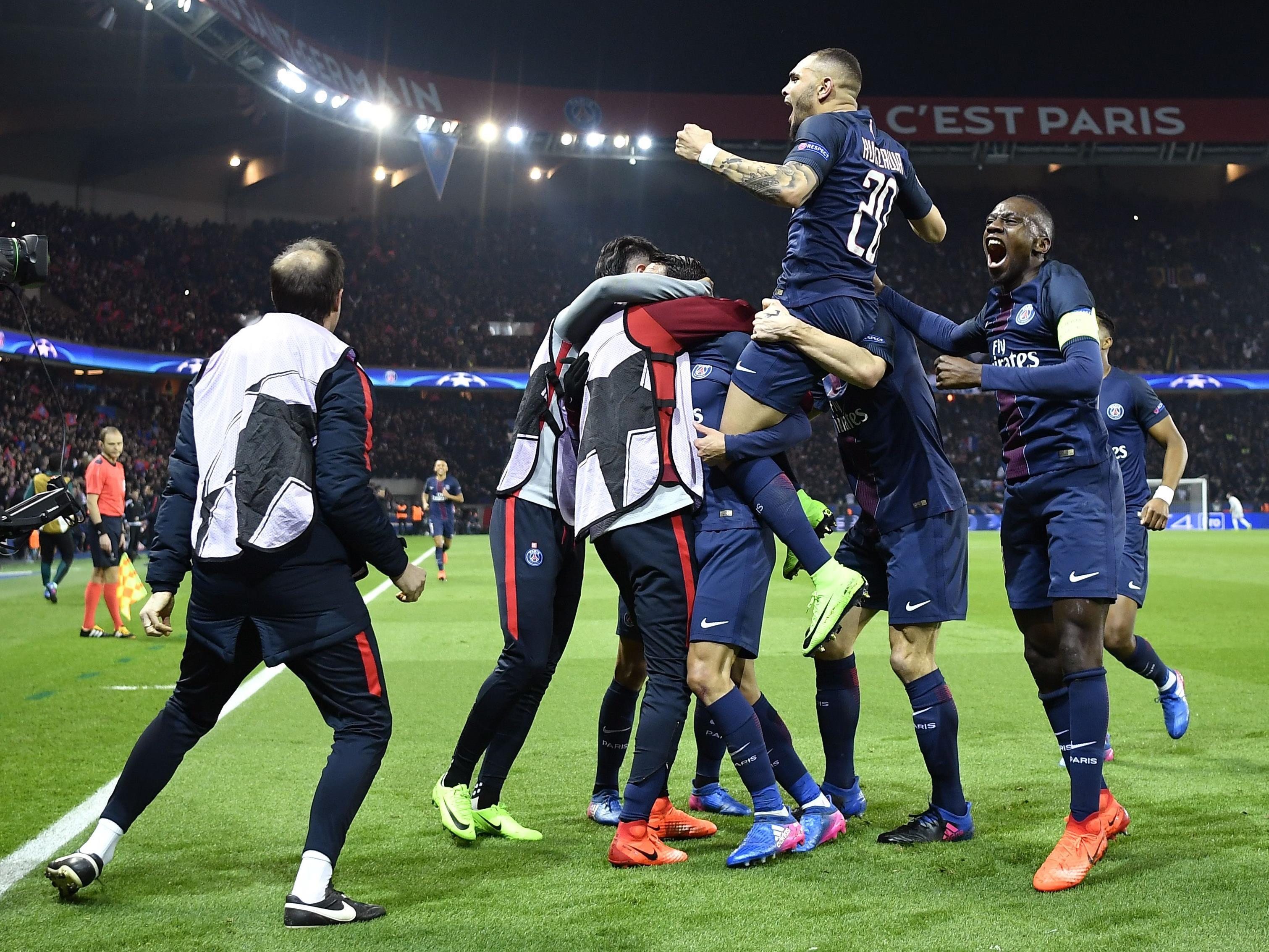 Paris durfte gegen Barcelona heute gleich mehrfach jubeln.