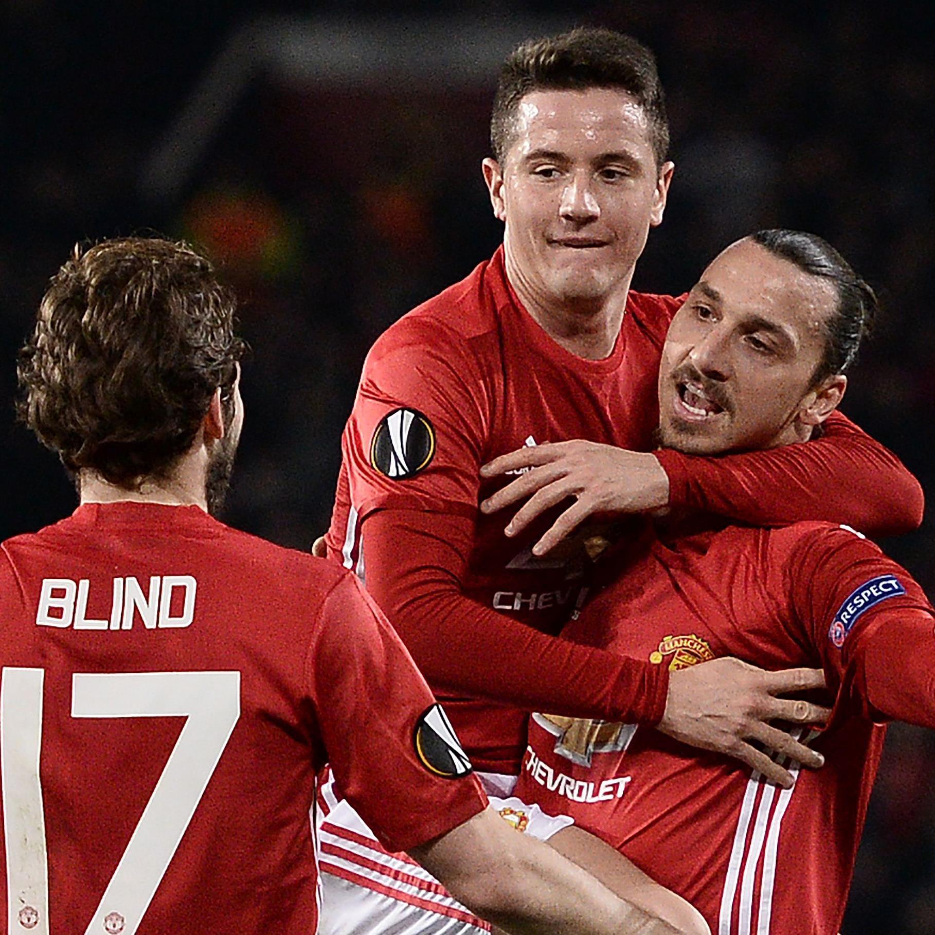 Zlatan Ibrahimovic war mit seinen Treffern der Mann des Spiels.