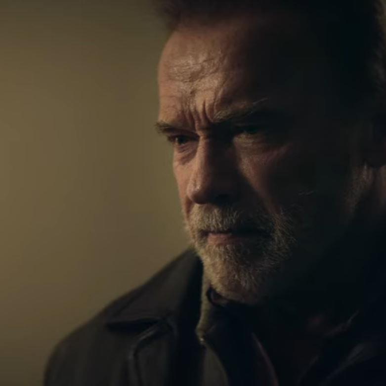 "Arnold Schwarzenegger in ""Aftermath"""