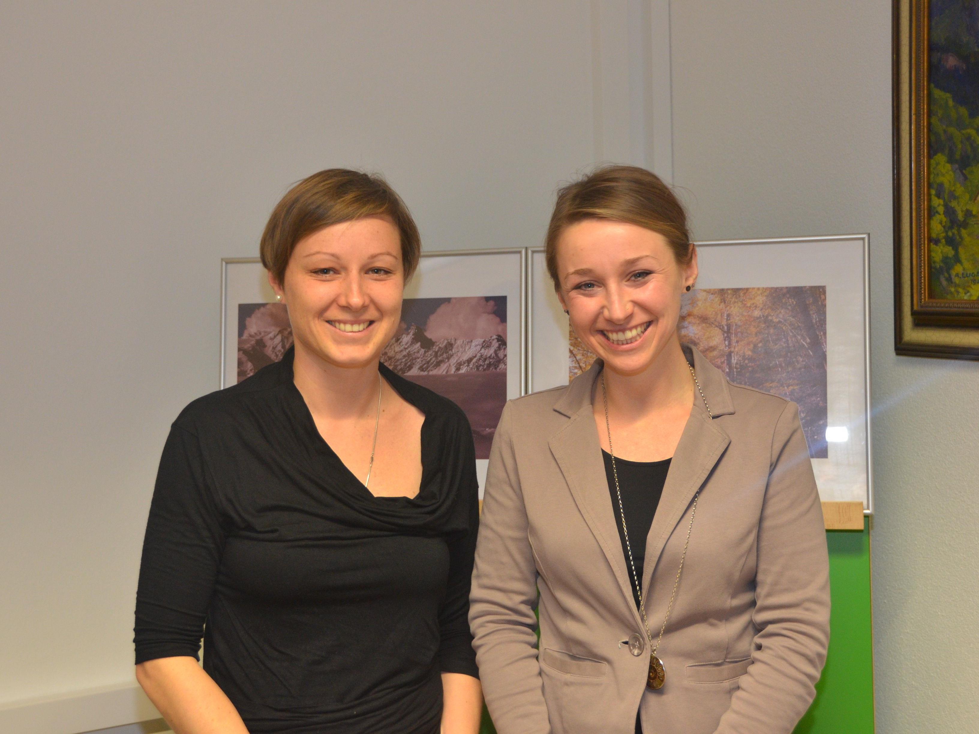 Anna Engstler und Michaela Burtscher - Regio Klostertal