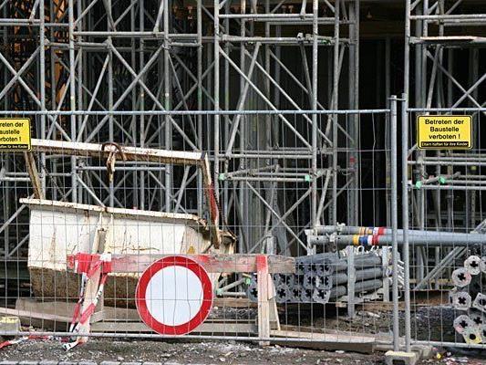 Auf einer Baustelle in Favoriten kam es zu einem Arbeitsunfall